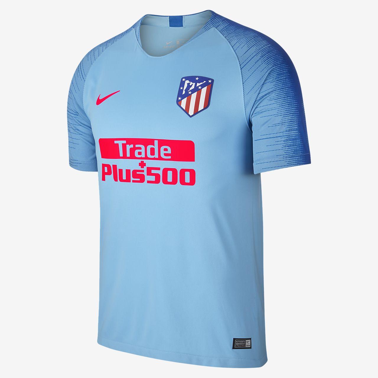 Camiseta de fútbol para hombre de visita Stadium del Atlético de Madrid 2018/19