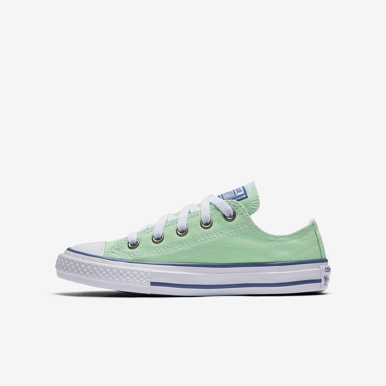 Converse Chuck Taylor All Star Seasonal Low Top Little/Big Kids' Unisex Shoe