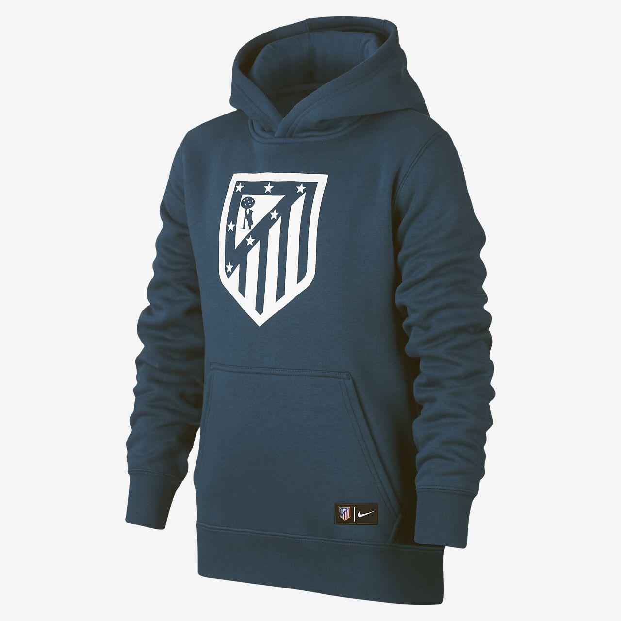 1cf3ffd17 Atlético Madrid Older Kids  Sweatshirt Hoodie. Nike.com CA