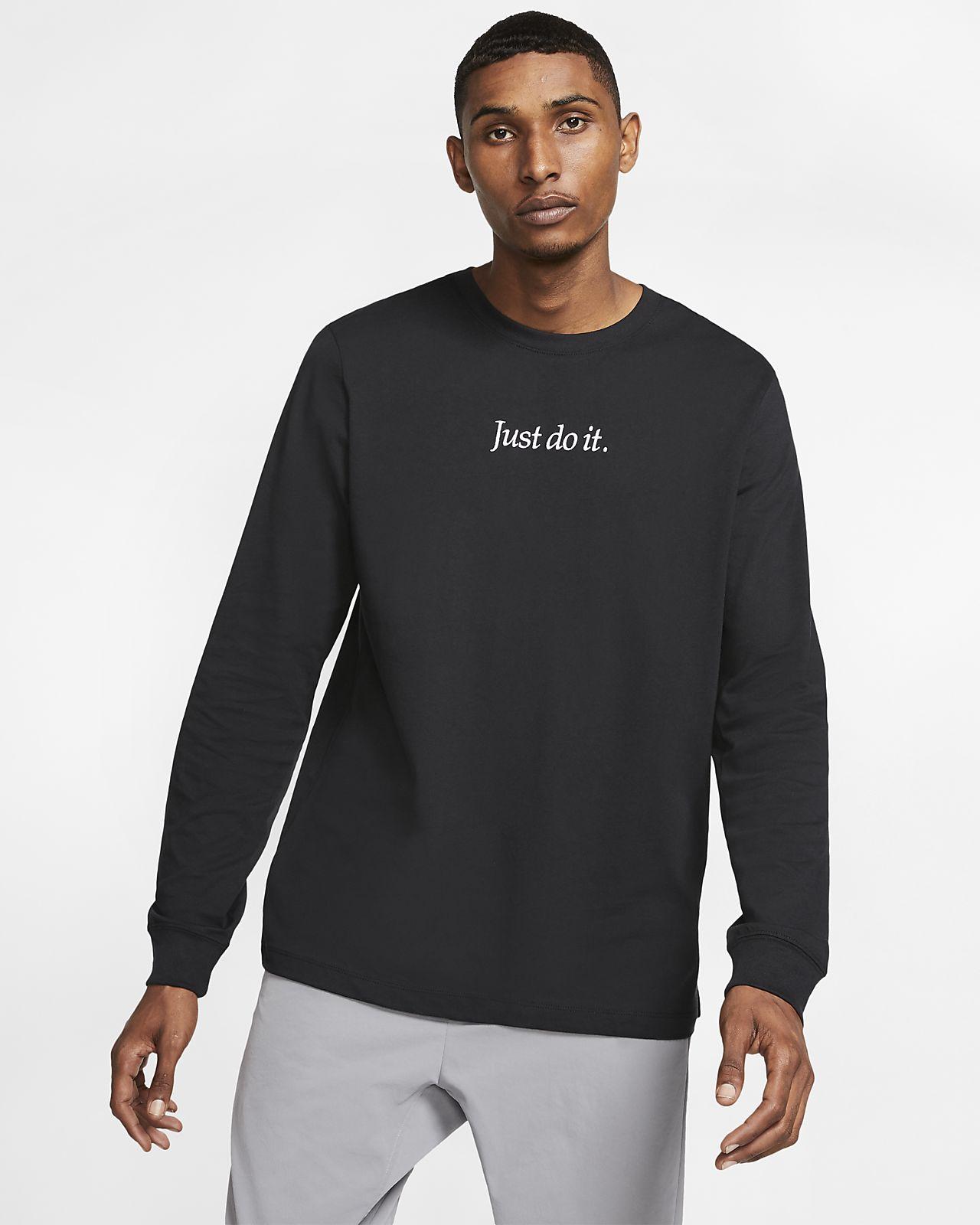 Pánské tričko Nike Sportswear JDI s dlouhým rukávem