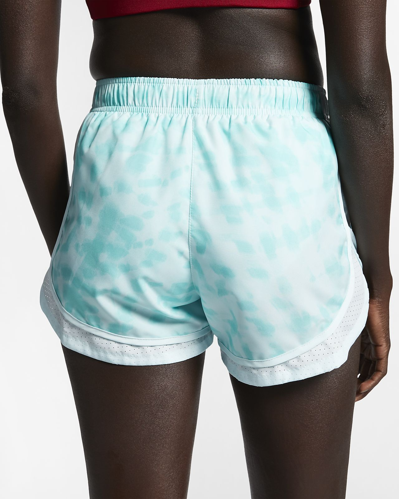 separation shoes ecca5 02c5c Women s Printed Running Shorts. Nike Tempo