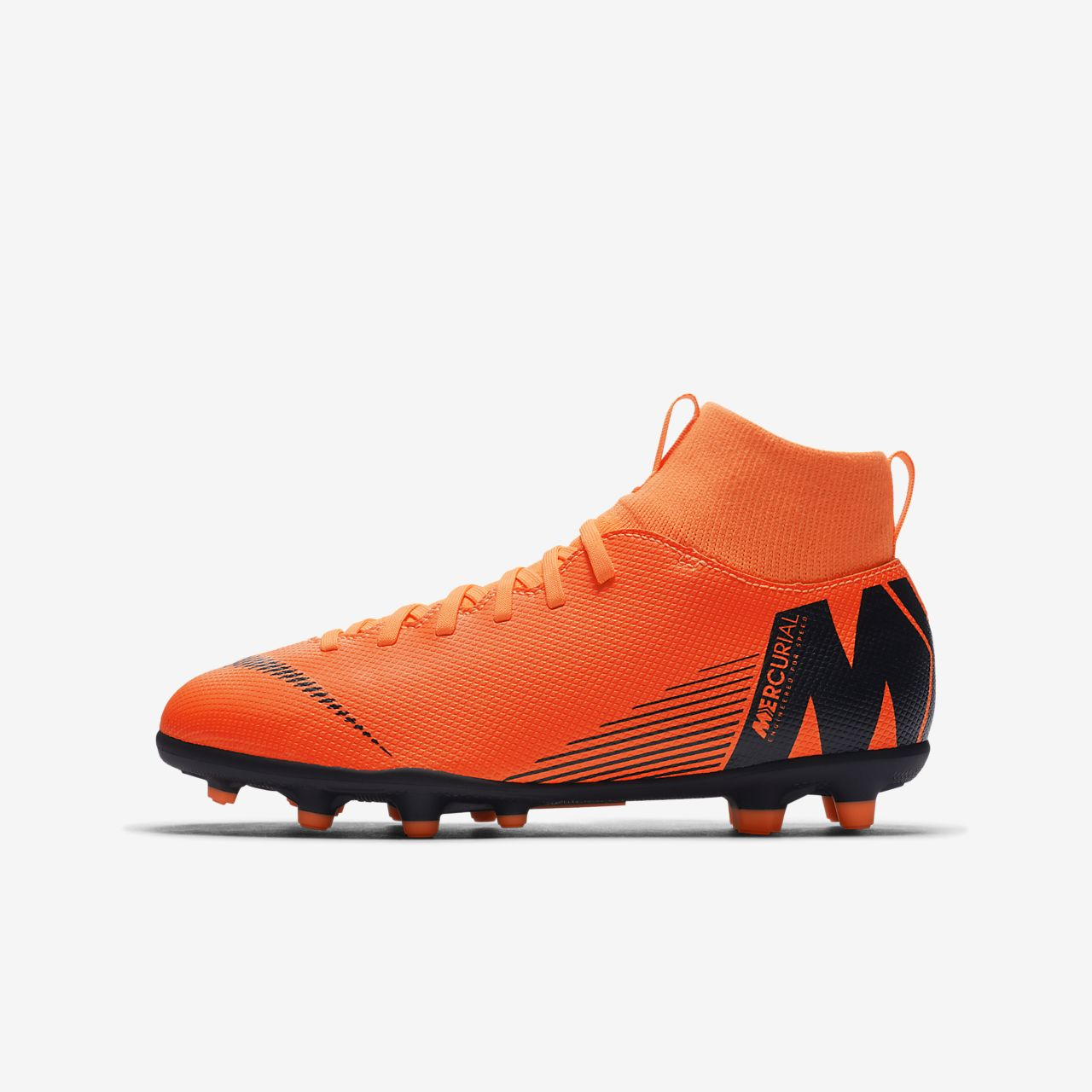 pretty nice 39fff 6ffeb ... low cost nike jr. mercurial superfly vi club younger older kids multi ground  football ce722