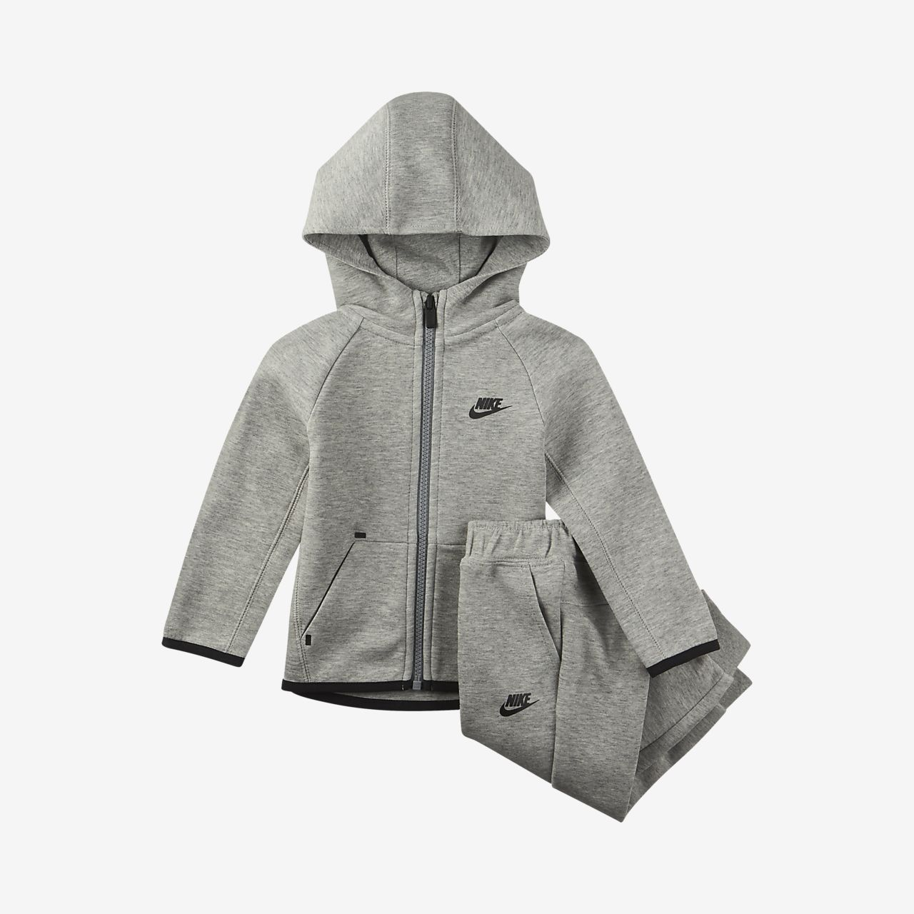 Nike Sportswear Tech Fleece Conjunt de dessuadora amb caputxa i joggers - Nadó (12-24 M)
