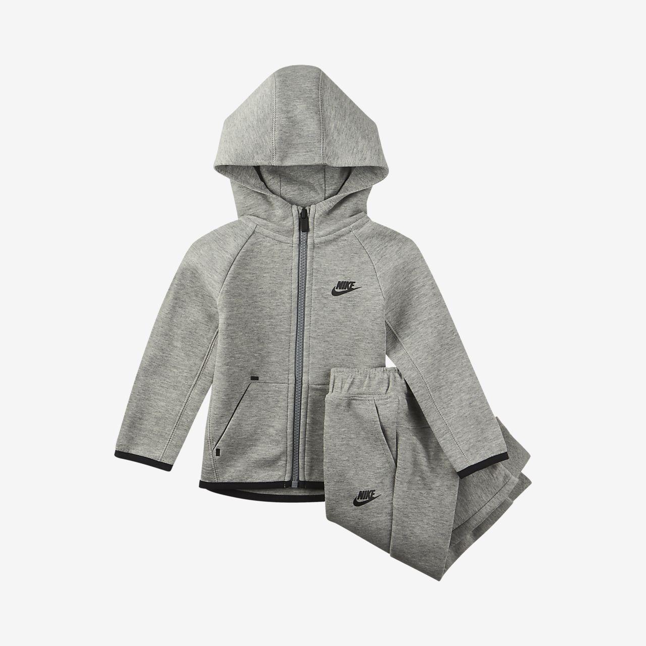 Nike Sportswear Tech Fleece Baby (12–24M) Hoodie and Joggers Set