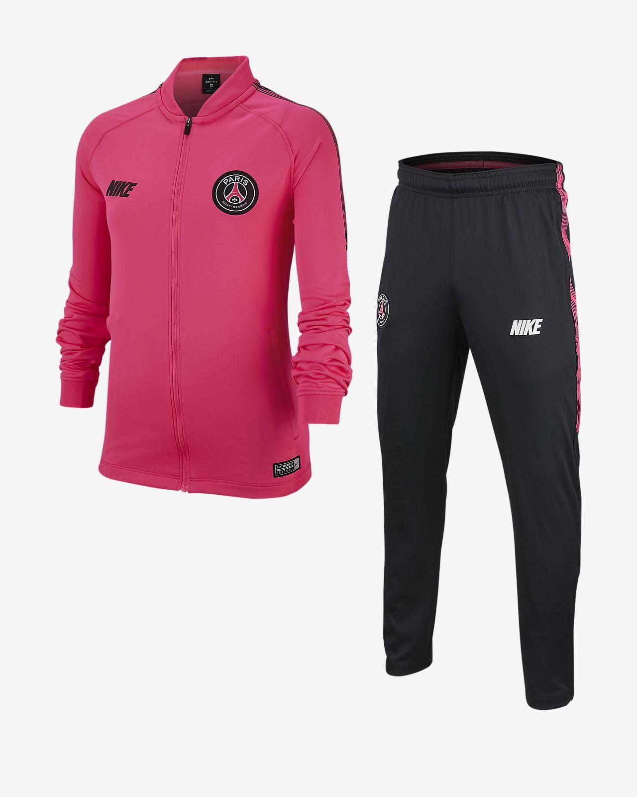 Paris Saint-Germain Dri-FIT Squad – fodboldtræningsdragt til store børn