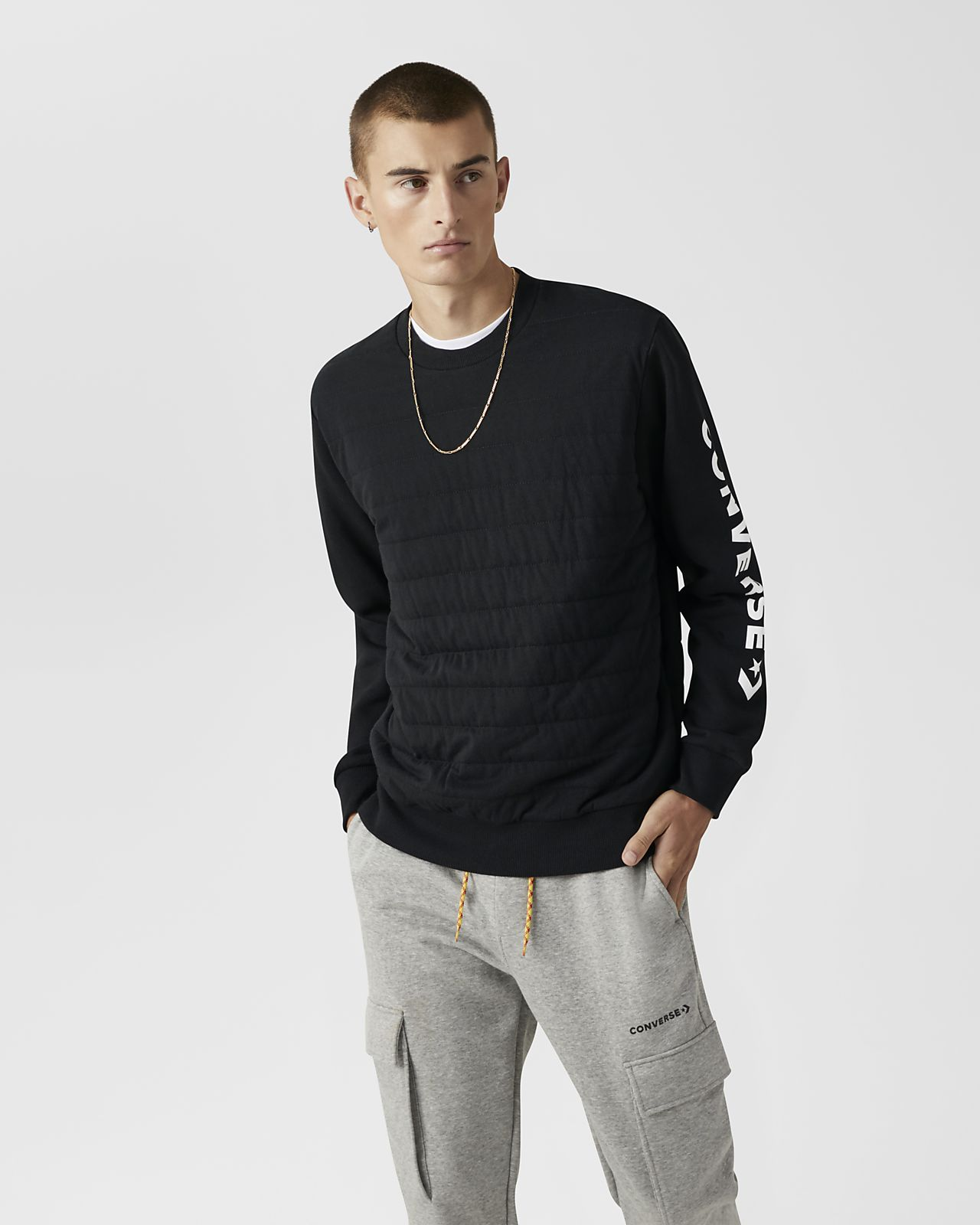 Converse Quilted  Men's Crew