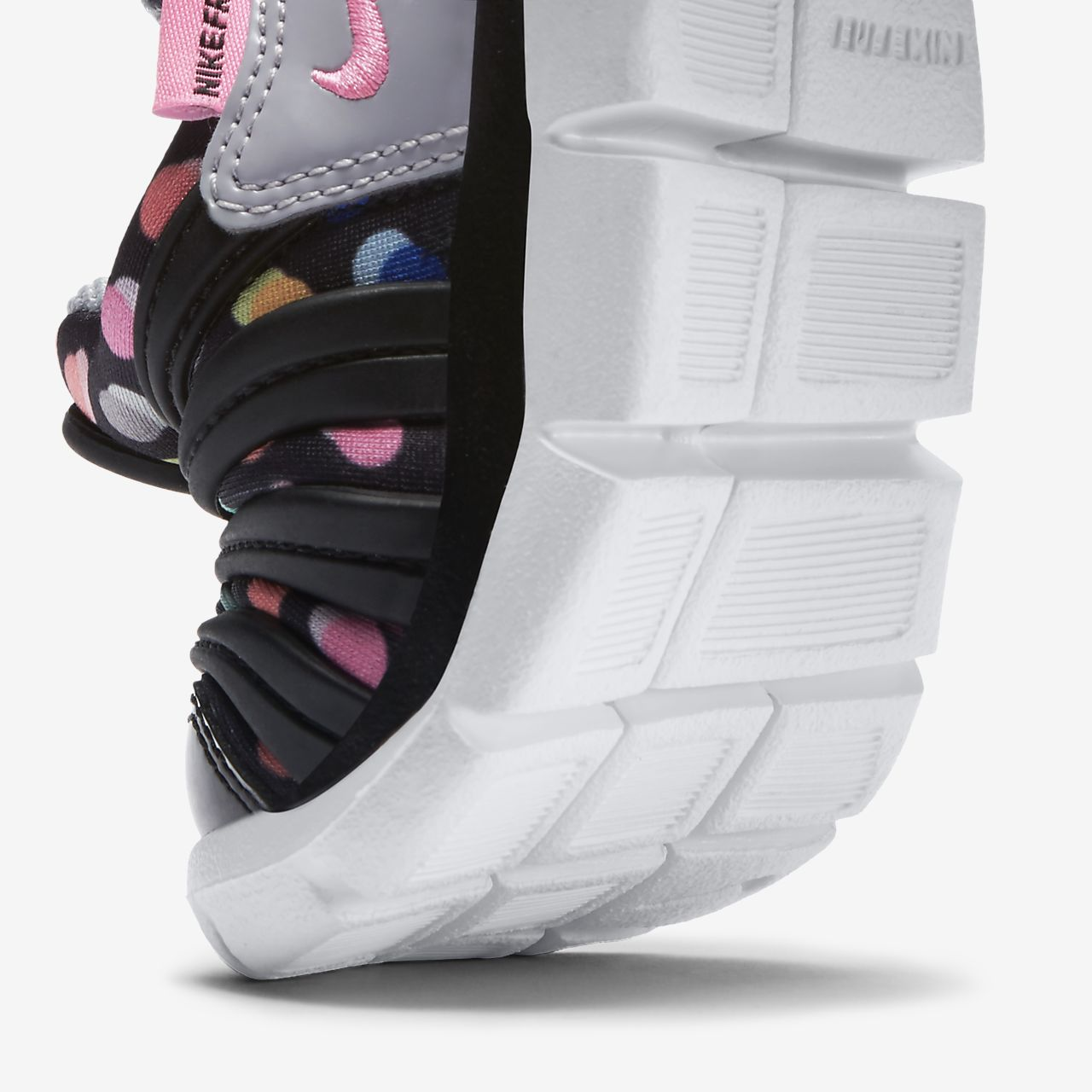 gris rosado nike free dynamo hombres zapatos