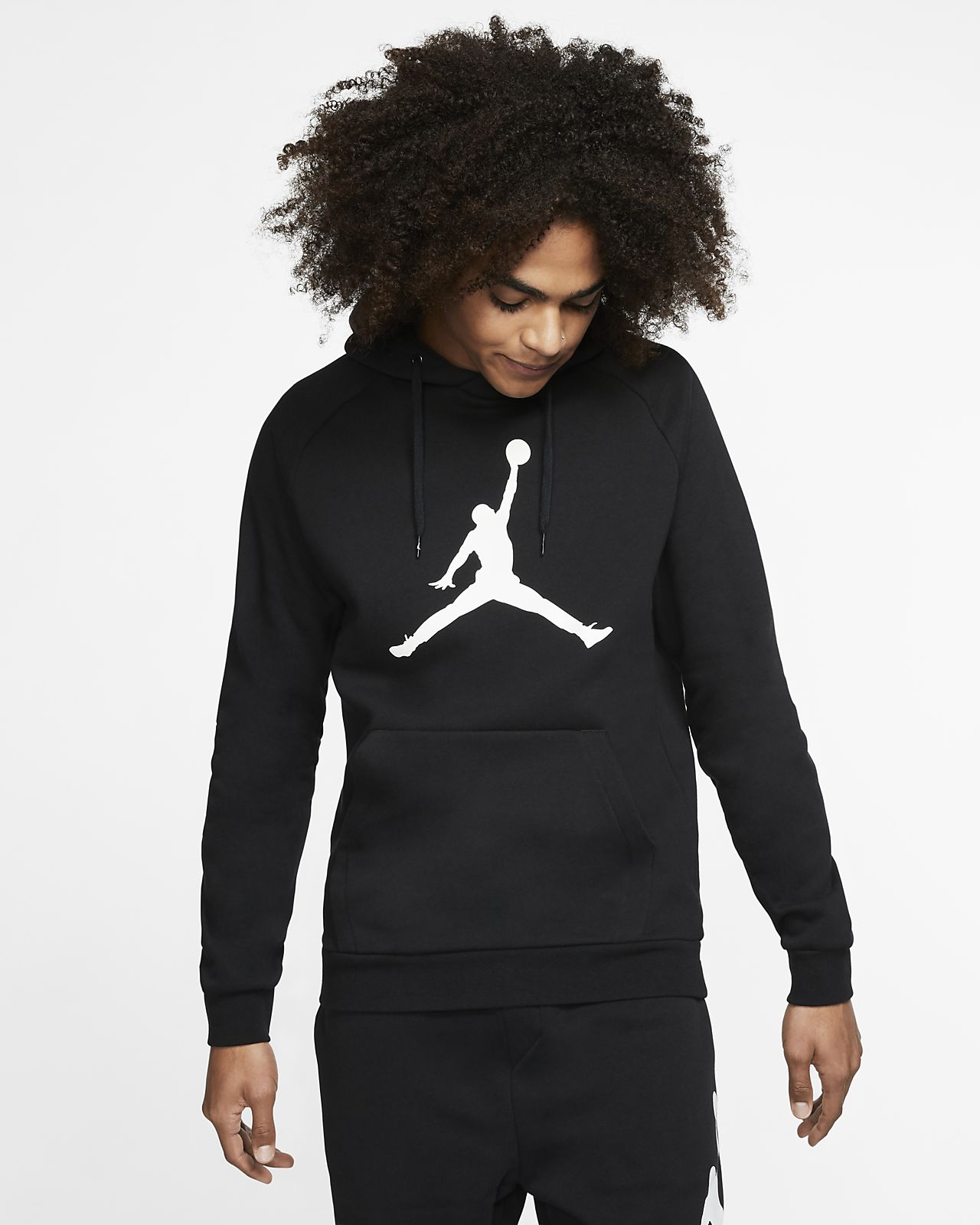 miglior servizio 95f71 a96f8 Felpa pullover in fleece con cappuccio Jordan Jumpman Logo - Uomo