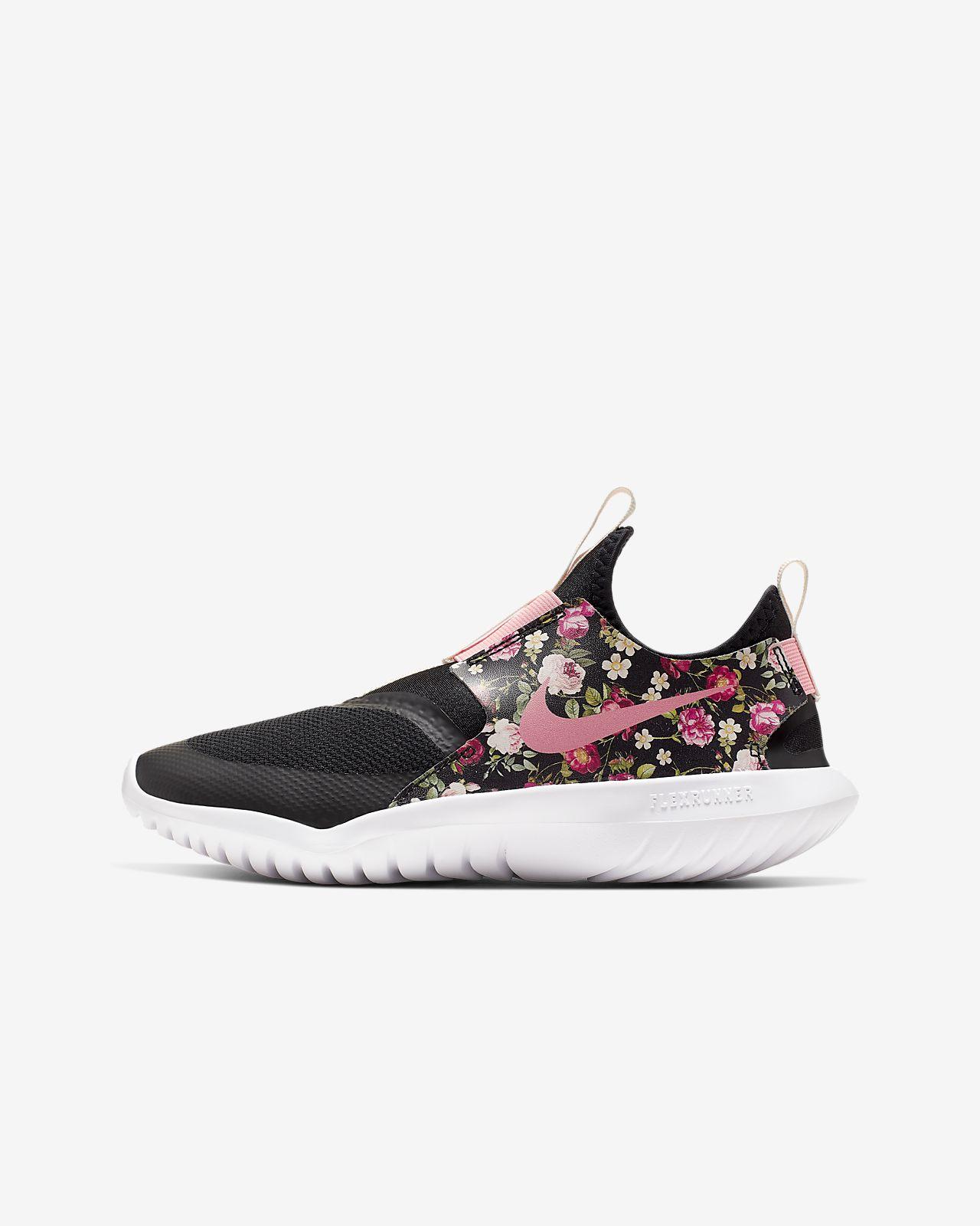 Nike Flex Runner Vintage Floral Big Kids' Shoe