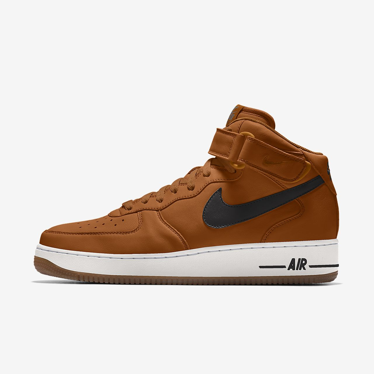 Specialdesignad sko Nike Air Force 1 Mid By You för män