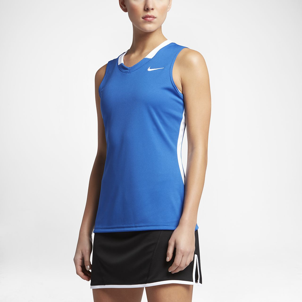 ... Nike Face-Off Stock Women's Lacrosse Jersey