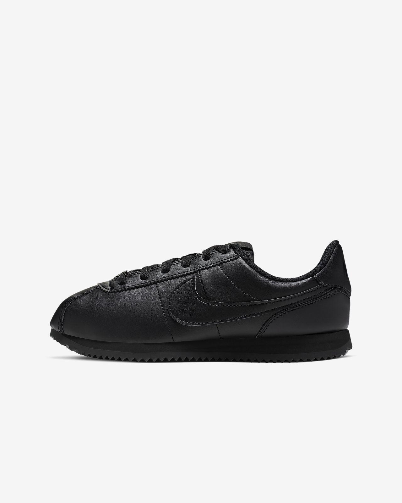 scarpe nere nike cortez
