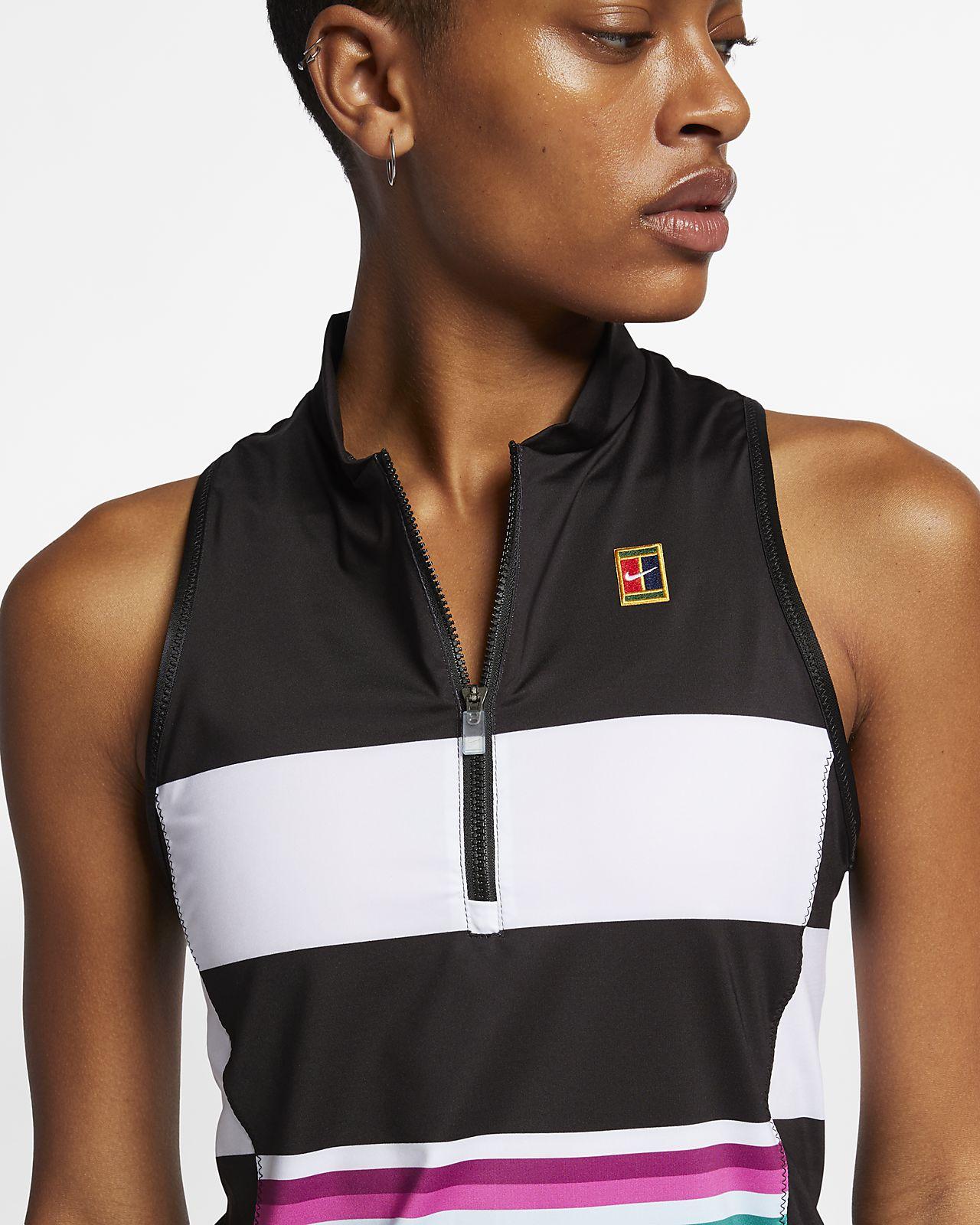 NikeCourt Power Slam Tennis Tanktop mit Print für Damen