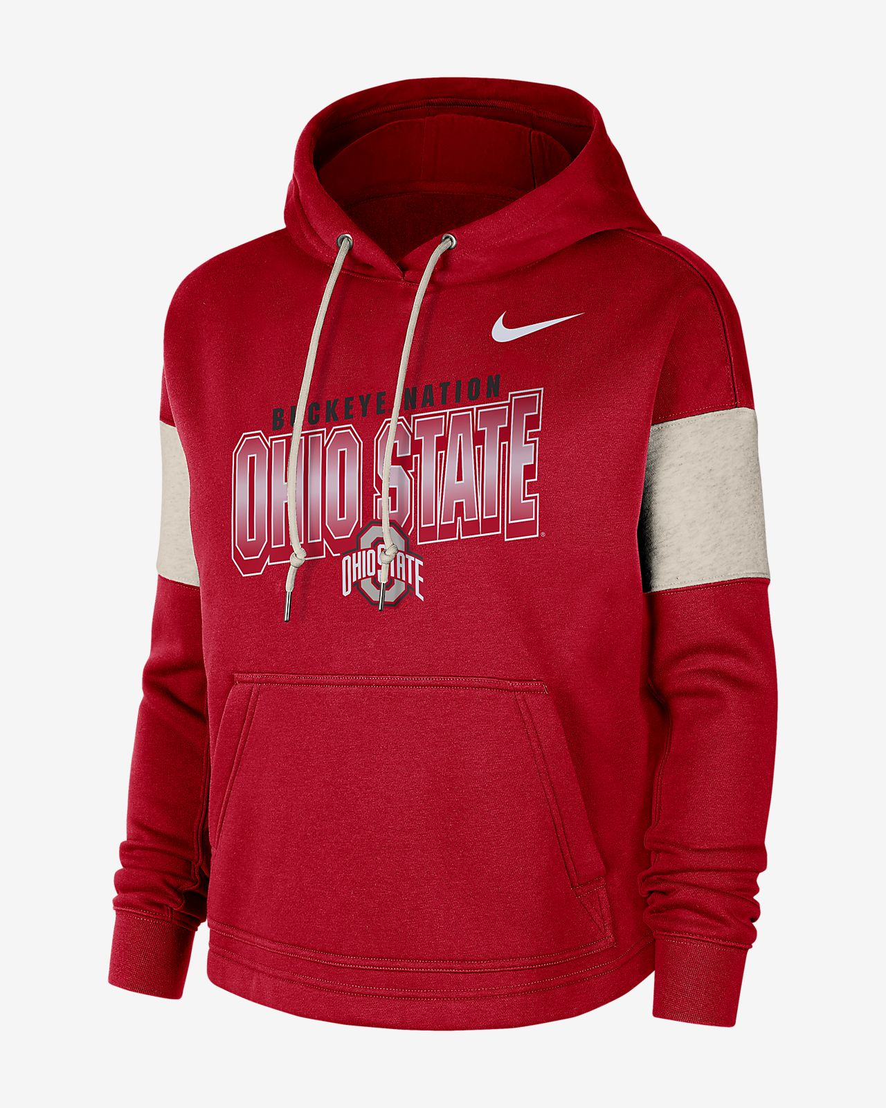 Nike College (Ohio State) Women's Pullover Hoodie