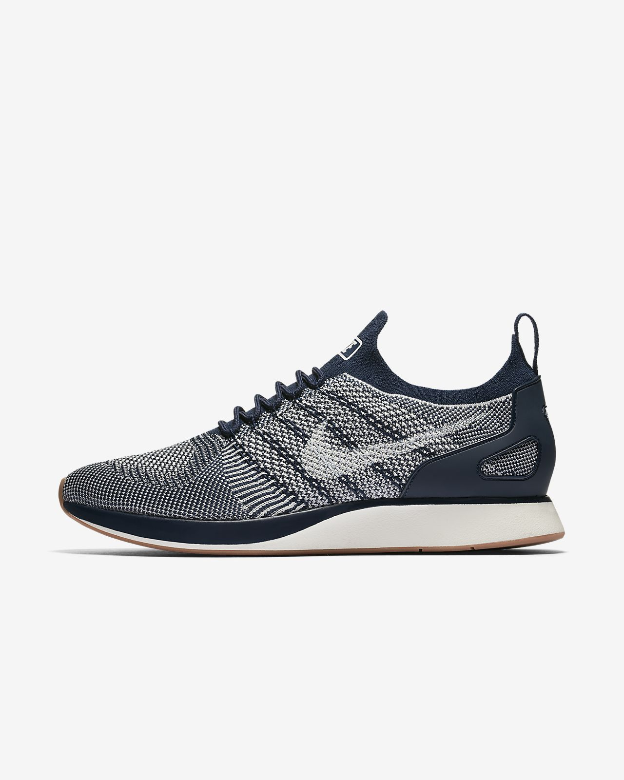 Nike Air Zoom Mariah Flyknit Racer Men's Lifestyle Shoes Violet/Blue/White/Black wG4216C