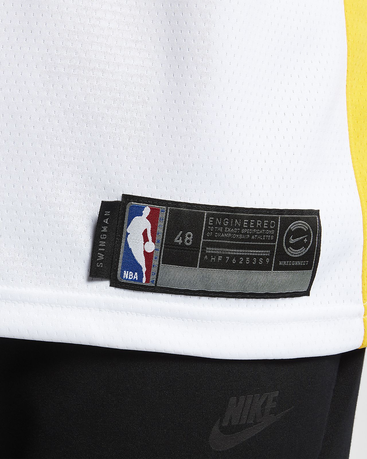 ... Stephen Curry Association Edition Swingman (Golden State Warriors)  Men s Nike NBA Connected Jersey 9adb07a2c