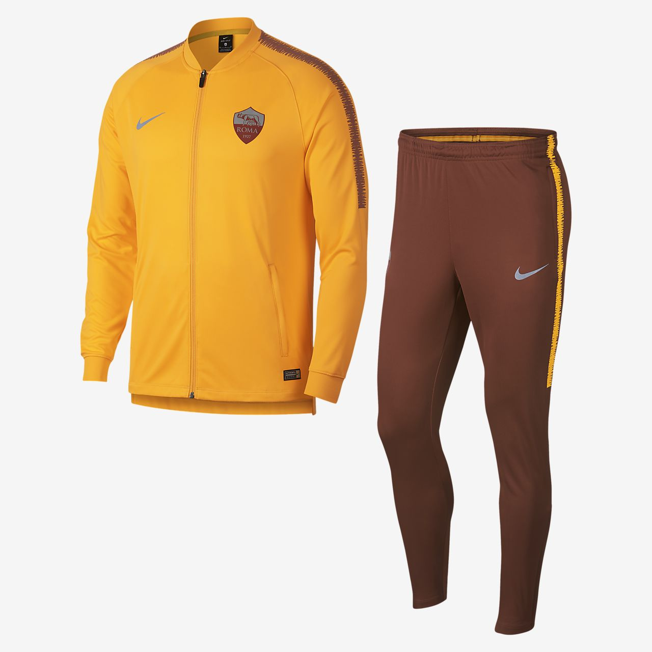A.S. Roma Dri-FIT Squad Chándal de fútbol - Hombre. Nike.com ES 2e7260b0fe471