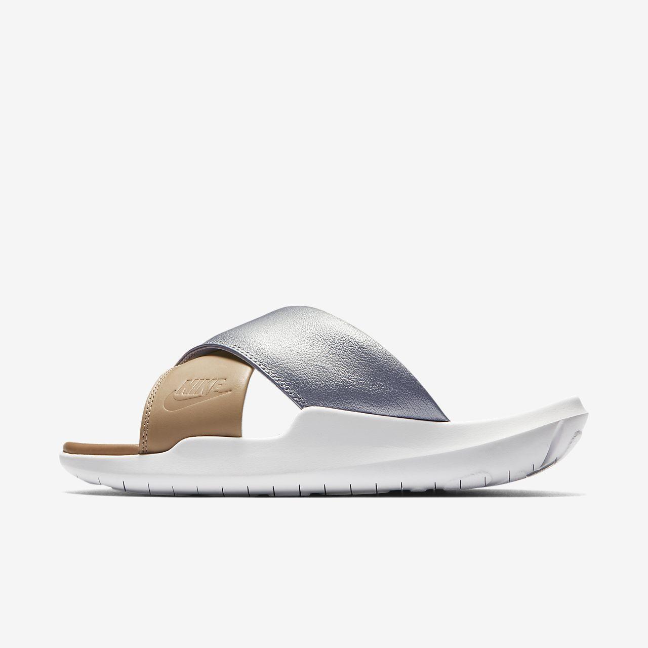 Nike Benassi Future Cross SE Premium Damen-Badeslipper - Silver irpF9VvLt