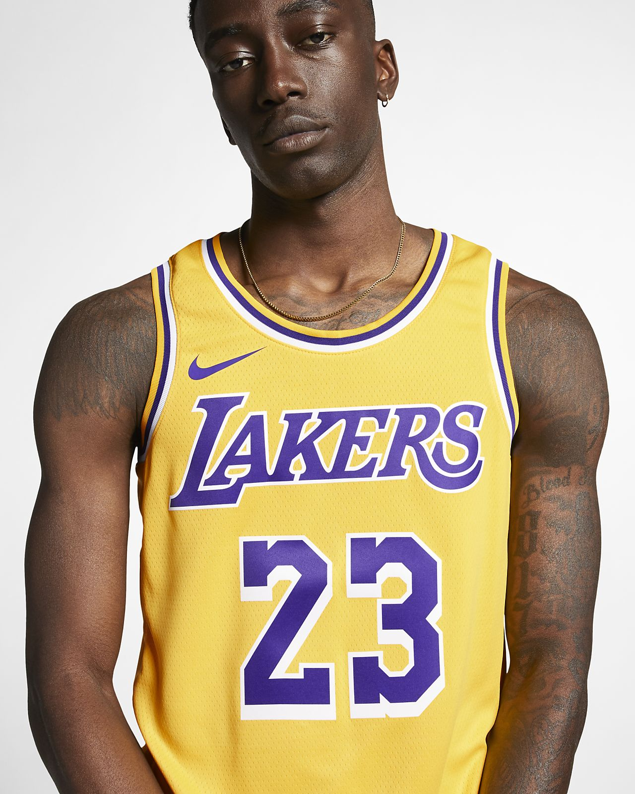 b40b33d53 ... LeBron James Icon Edition Swingman (Los Angeles Lakers) Men s Nike NBA  Connected Jersey