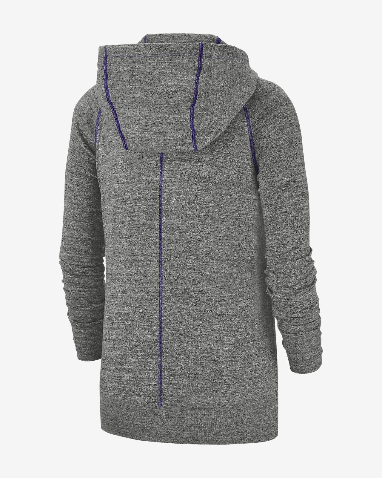 hot sale online fd11d 0bd40 Nike Gym Vintage (NFL Vikings) Women's Full-Zip Hoodie