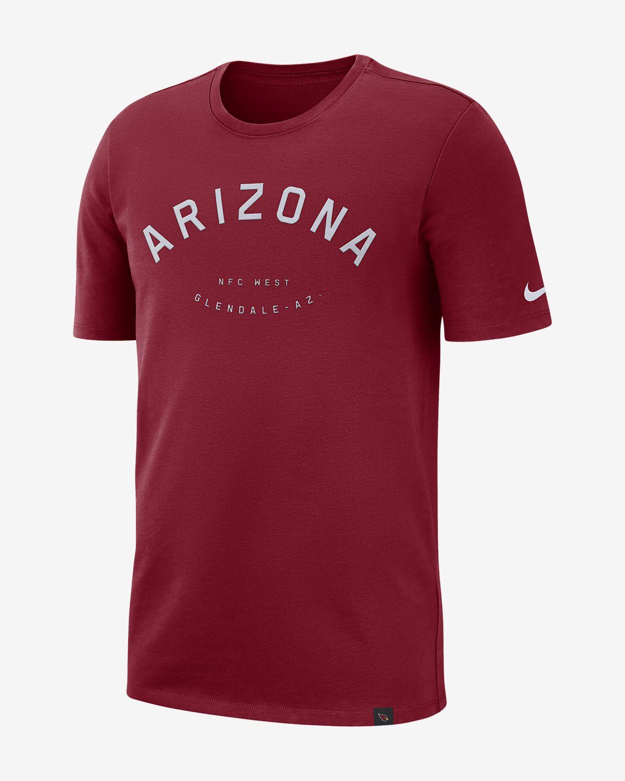 Nike Arch (NFL Cardinals) Men's Heavyweight T-Shirt