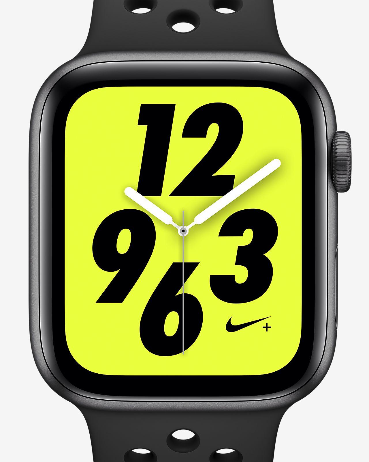 9a14e29f8ca8 ... Apple Watch Nike+ Series 4 (GPS) con correa Nike Sport Band Reloj  deportivo de