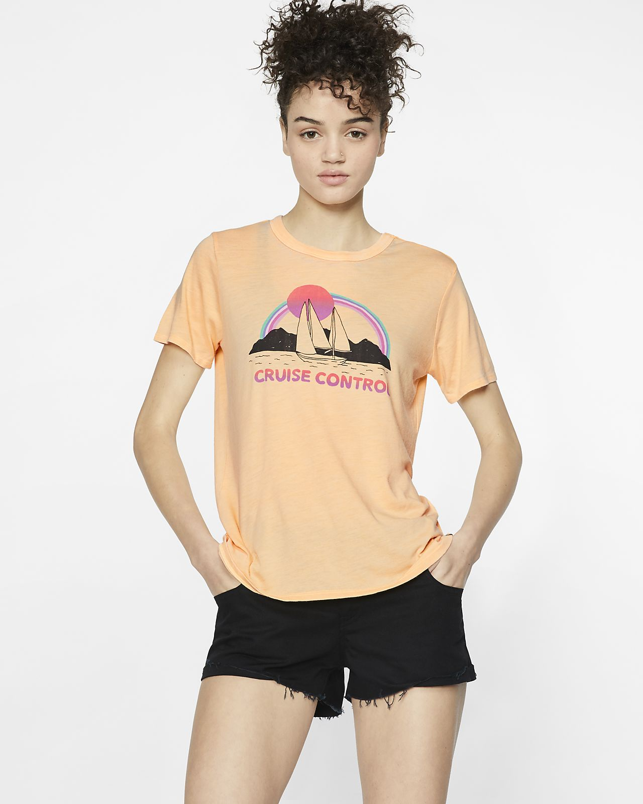 Hurley Cruise Control Camiseta - Mujer
