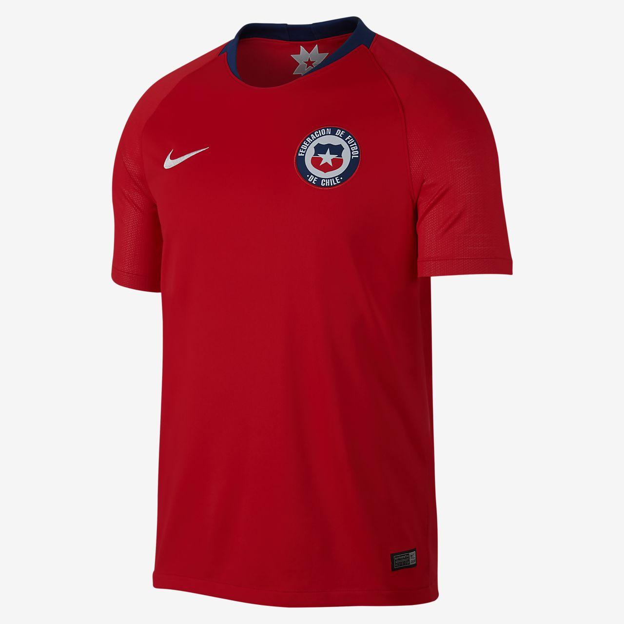 Camiseta de fútbol para hombre 2018 Chile Stadium Home. Nike.com CL bf5e7ef2fb54e