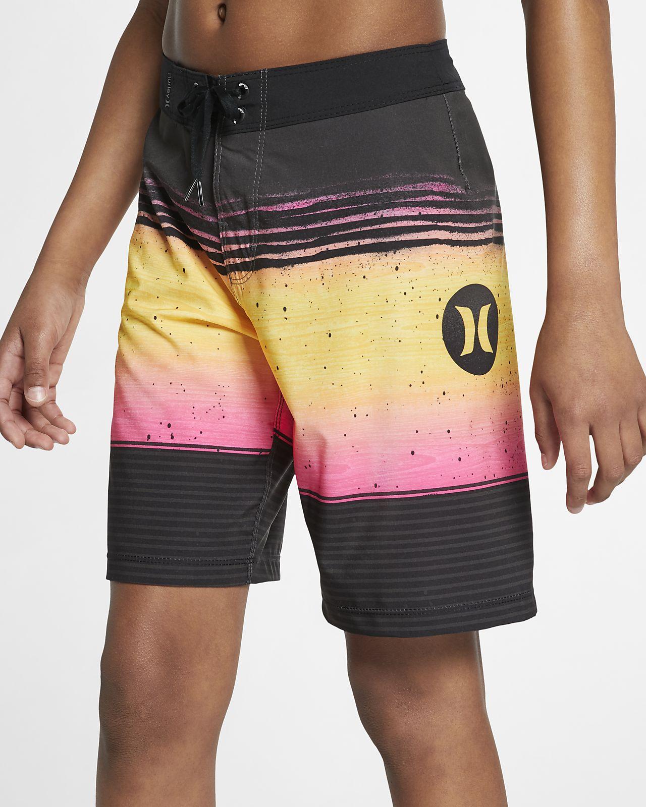 "Hurley Phantom Overspray Boys' 16"" Board Shorts"