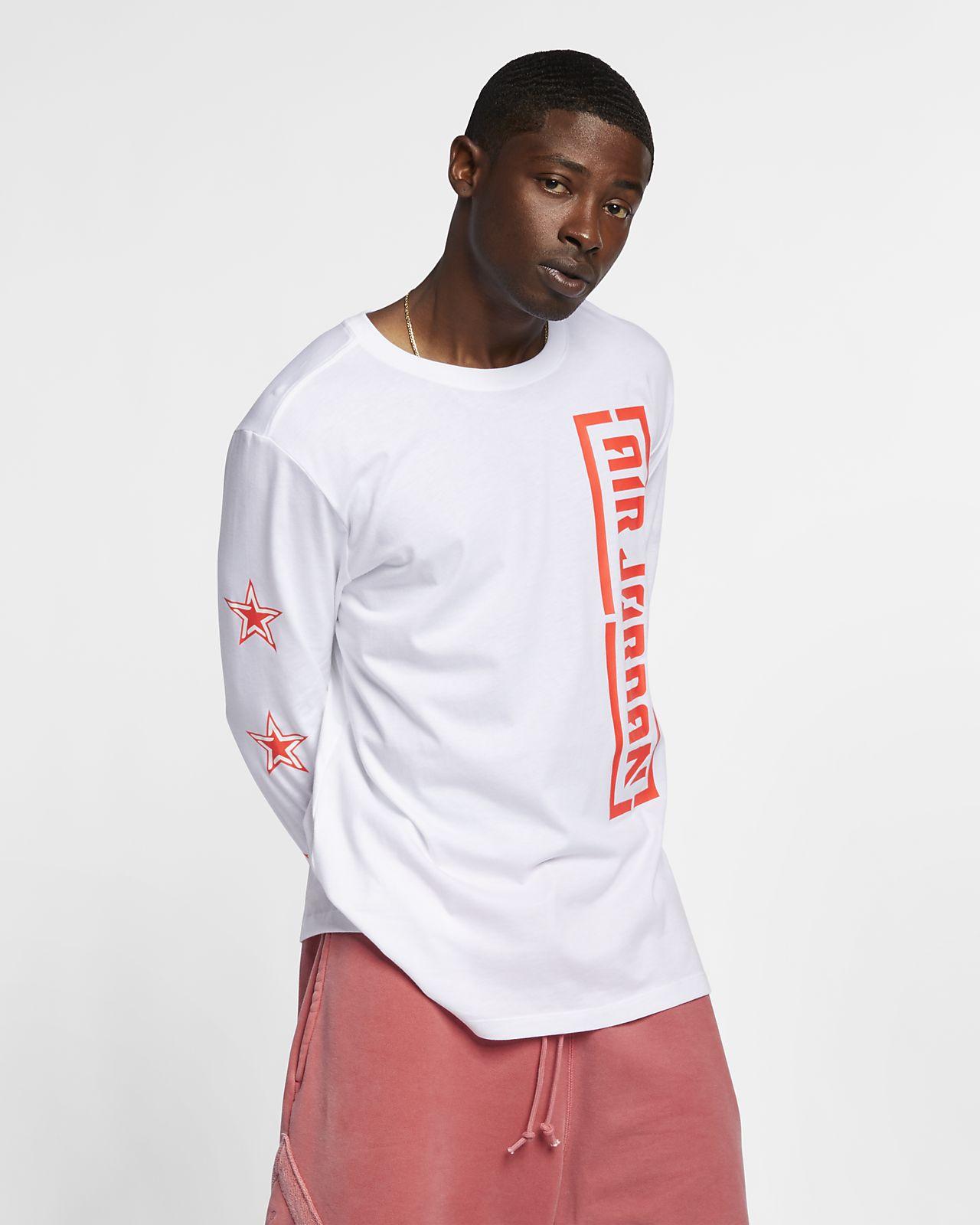 542f7d27e5e Jordan Men's Long-Sleeve T-Shirt. Nike.com
