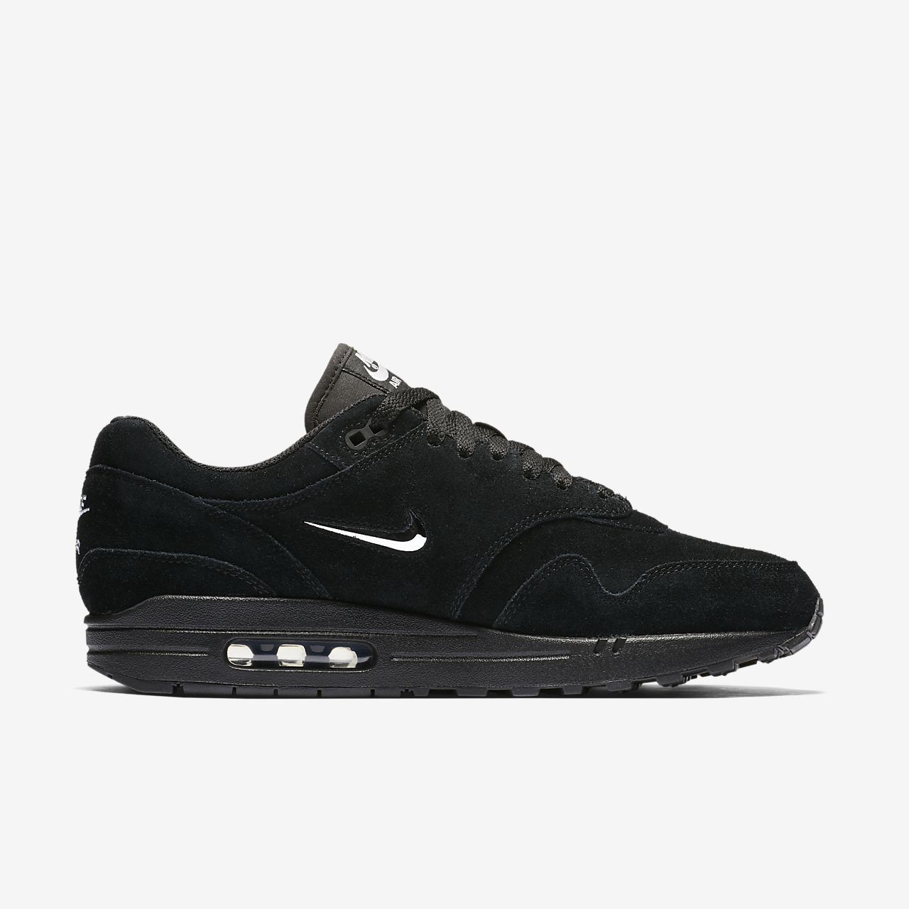 nike air max 1 all black