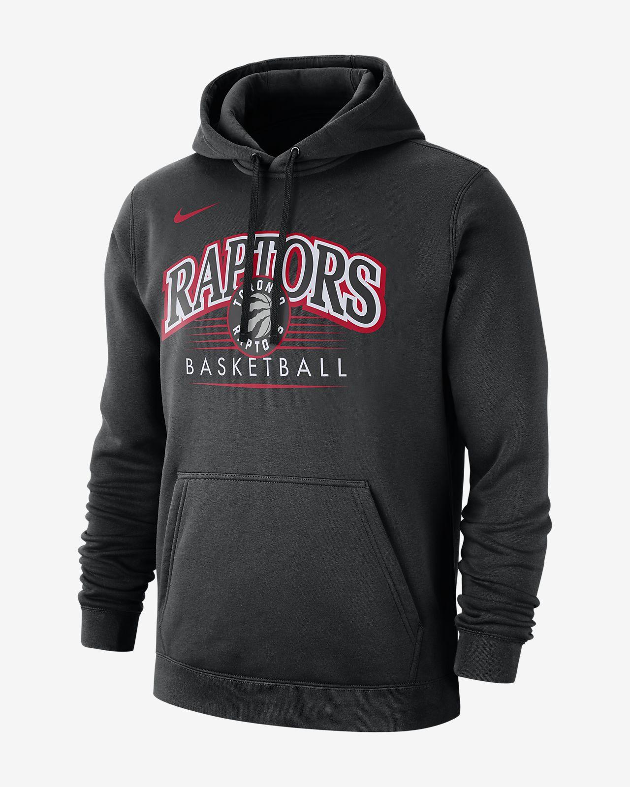 Sweat à capuche NBA Toronto Raptors Nike pour Homme