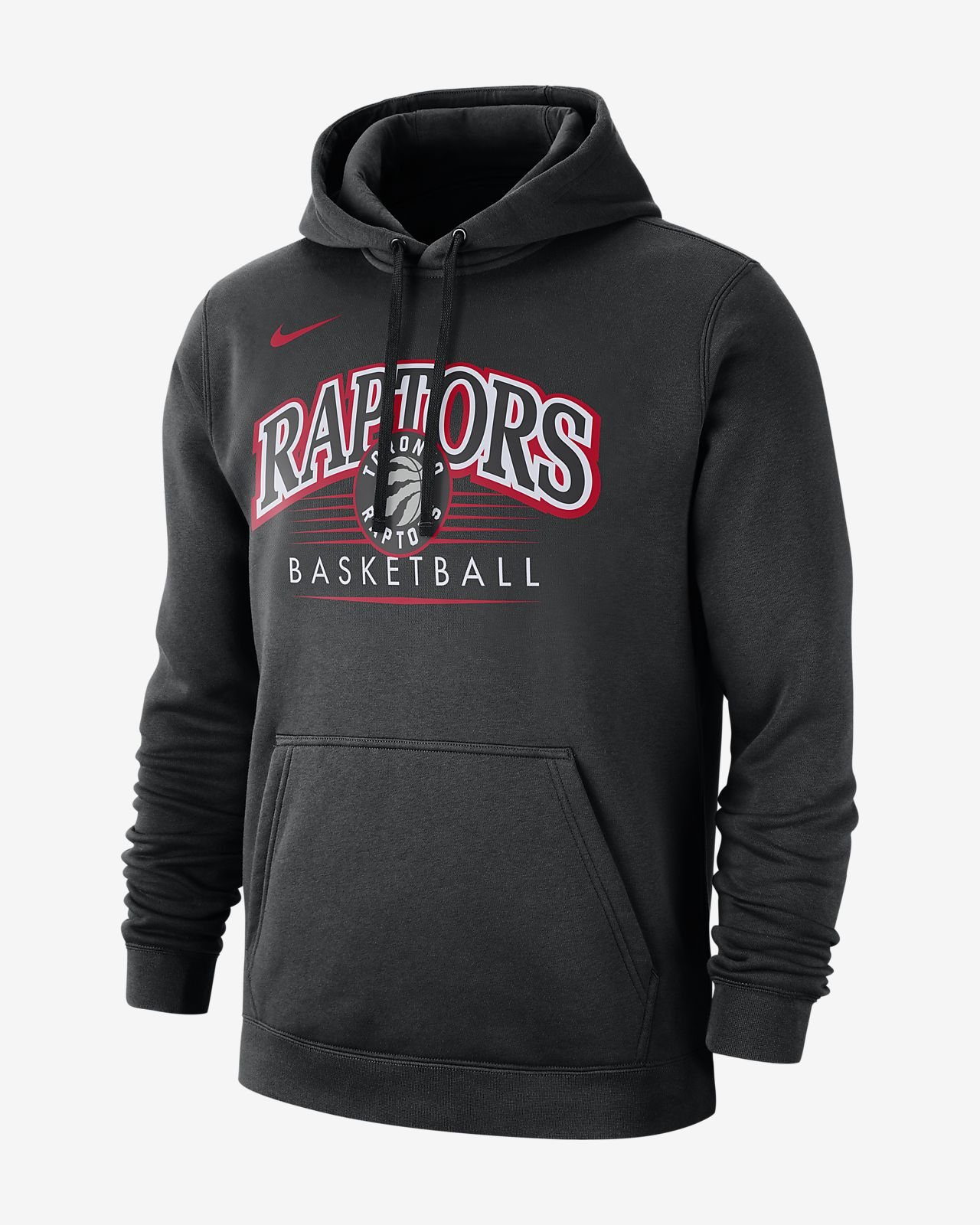 Toronto Raptors Nike NBA-s kapucnis férfipulóver