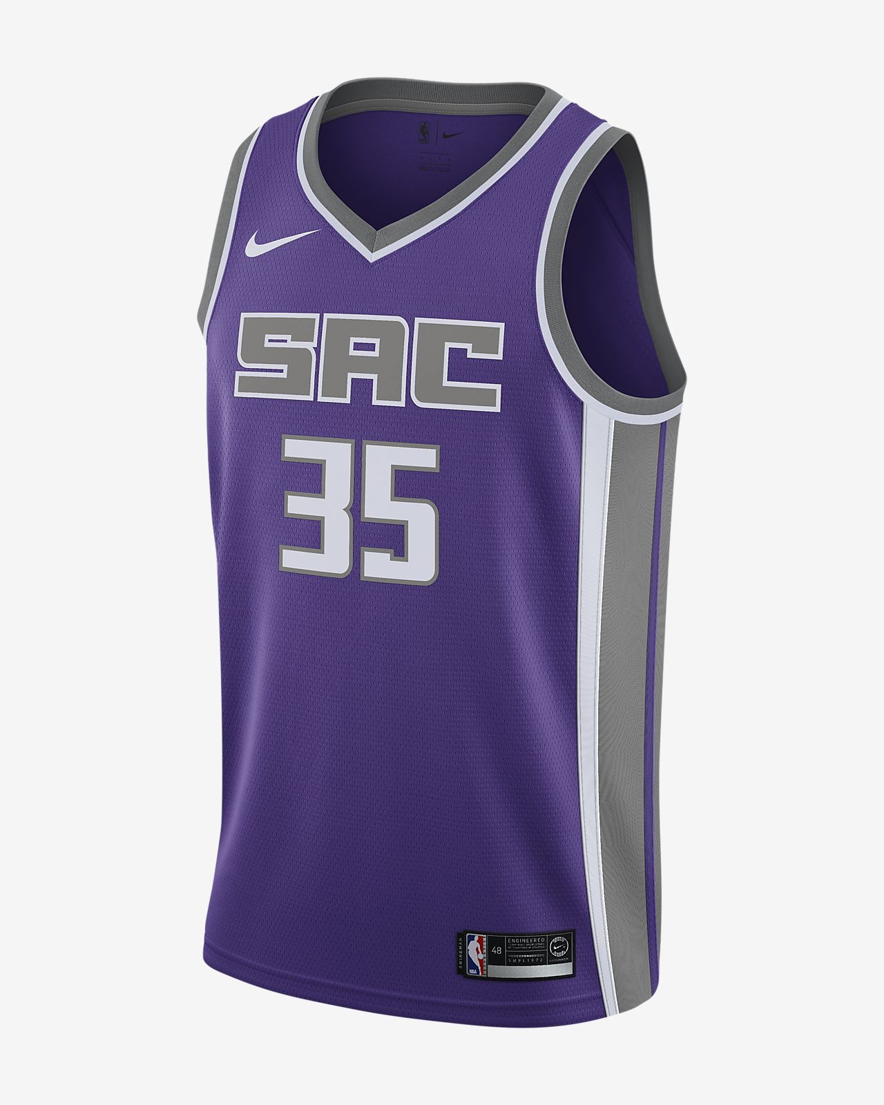 85500d8dad1b Men s Nike NBA Connected Jersey. Marvin Bagley Iii Icon Edition Swingman (Sacramento  Kings)