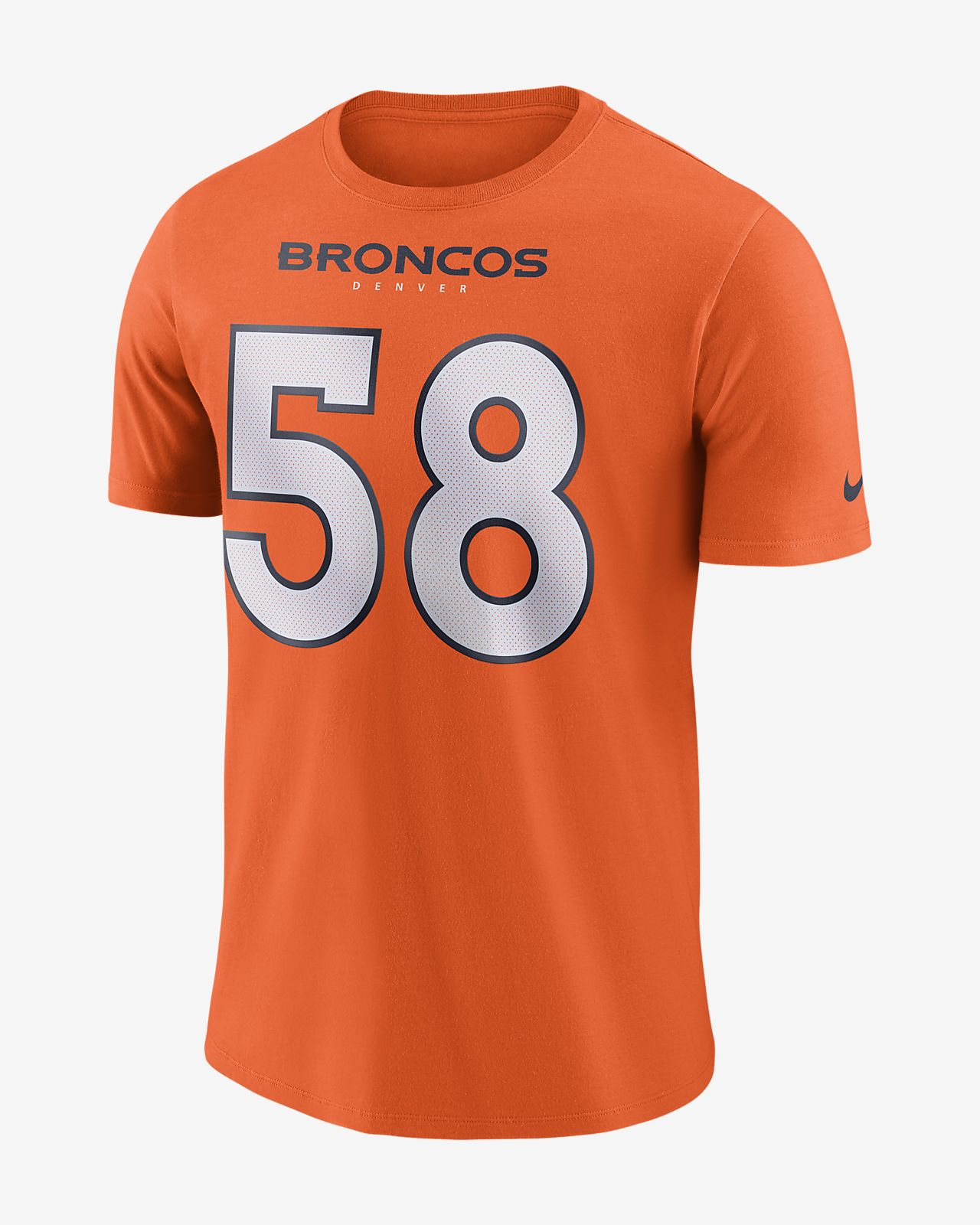 Men s T-Shirt. Nike Player Pride Name and Number (NFL Broncos   Von Miller) 6d3ed2d34