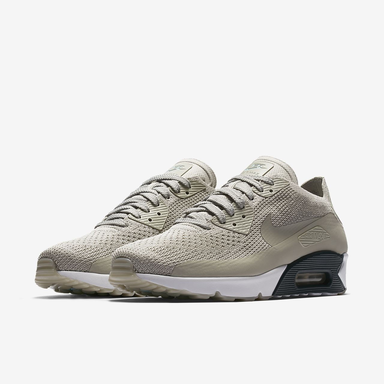nike air max 90 heren grey