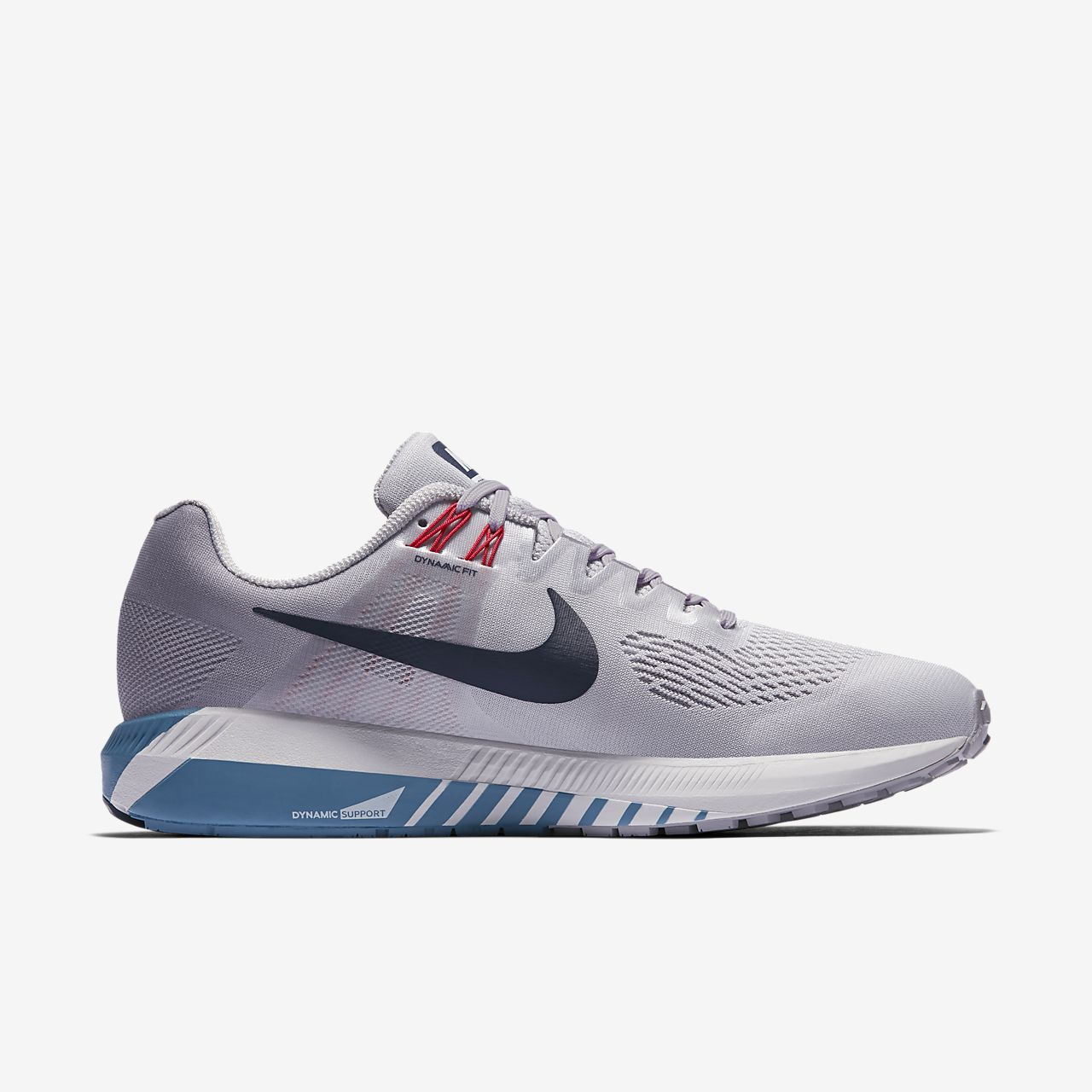 Nike Baskets basses Air Zoom Structure 21 Bleu