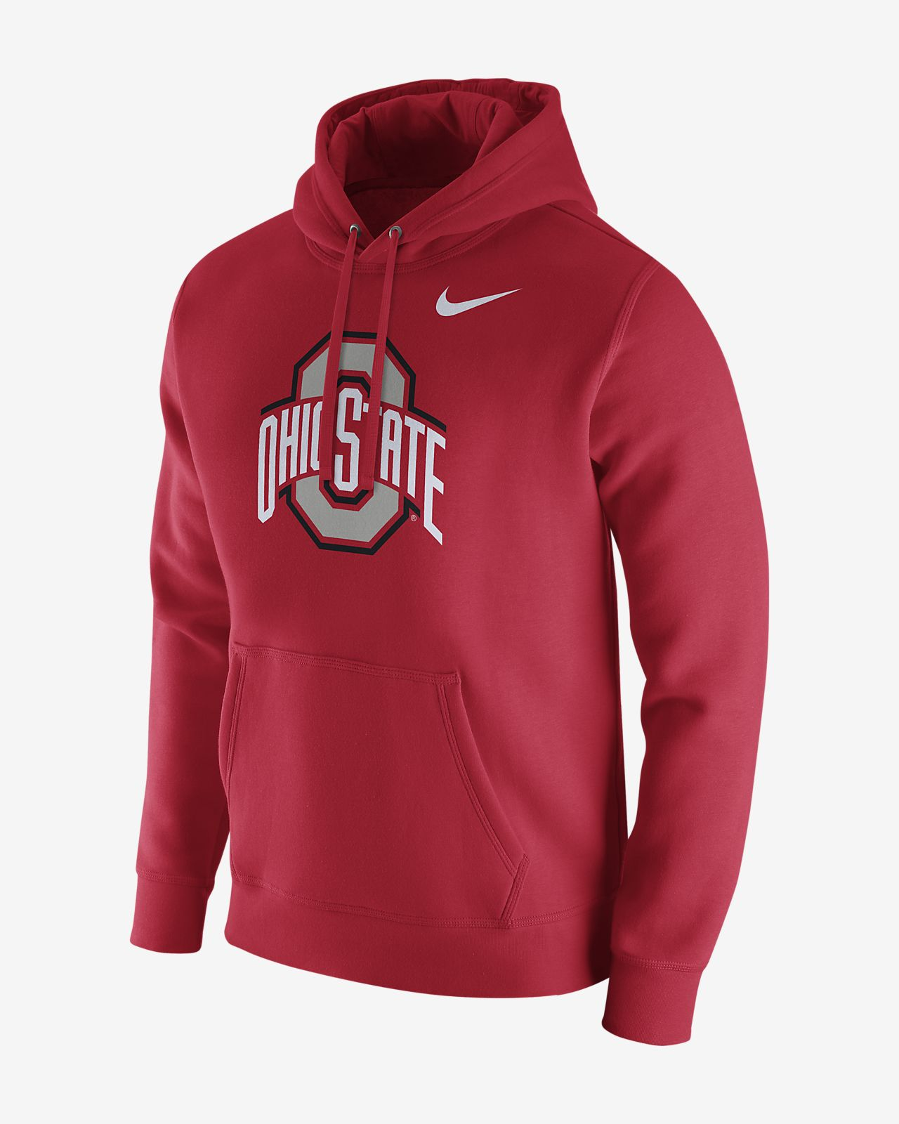 9dc9632cfa46 Nike College (Ohio State) Men s Fleece Hoodie. Nike.com