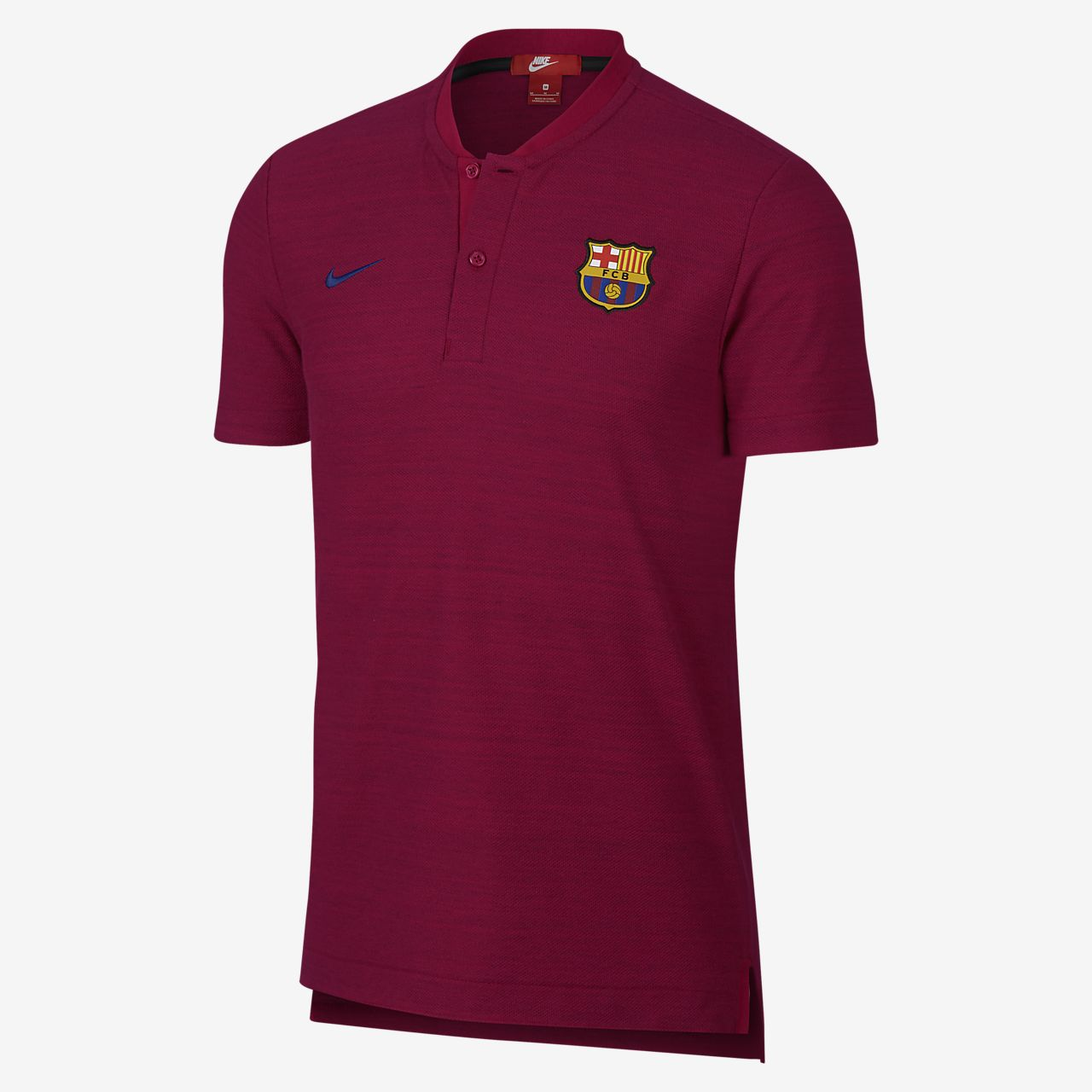 c7456ef6c FC Barcelona Authentic Grand Slam Men s Polo. Nike.com SE