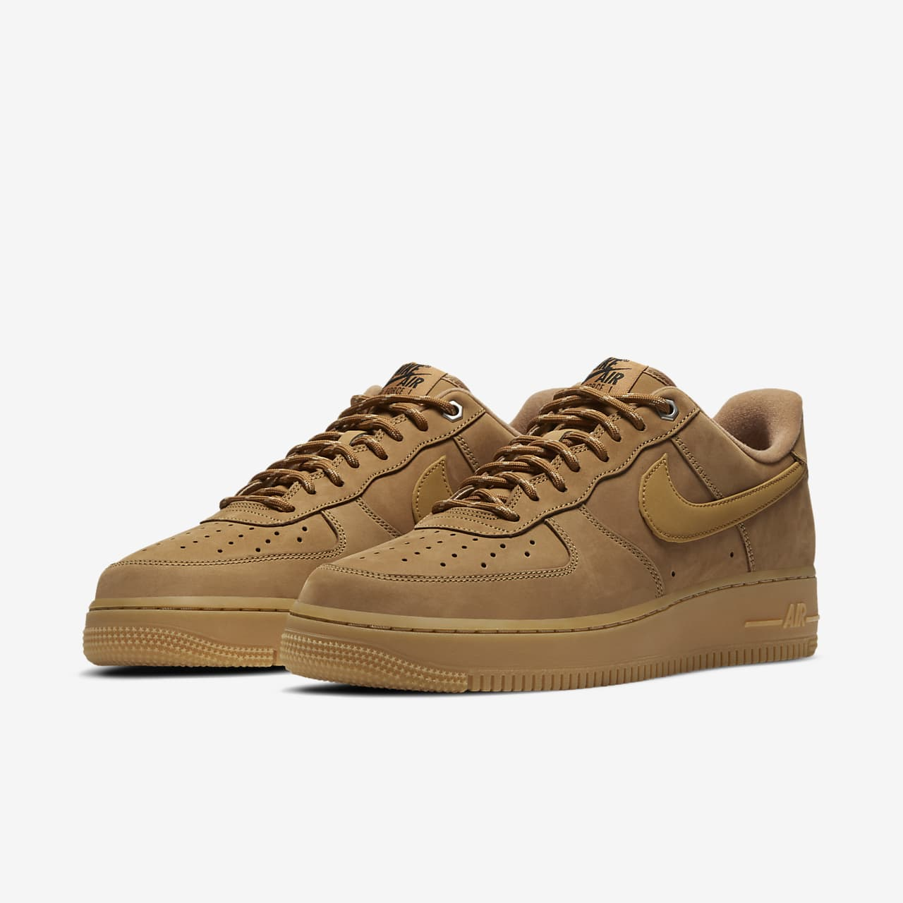 nike air force hombre beige