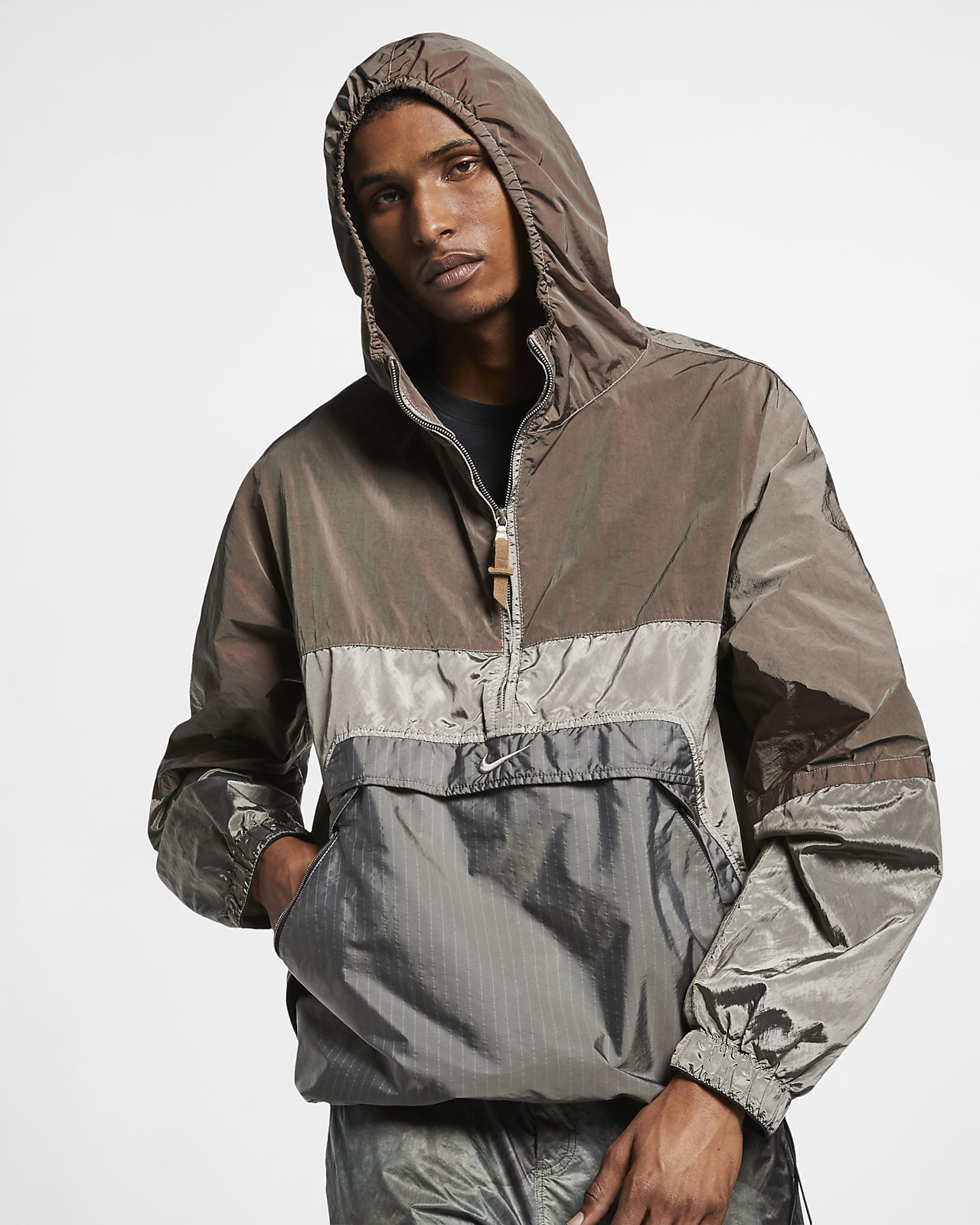 Casaco anoraque NikeLab Made in Italy Collection para homem