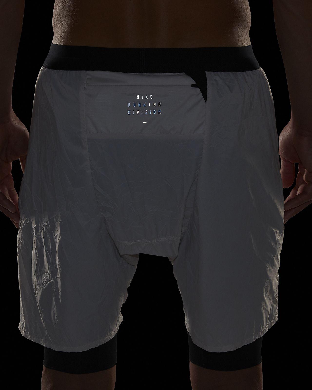 1a7fb181b6b1 Nike Flex Run Division Stride Elevate Men s 2-in-1 Running Shorts ...