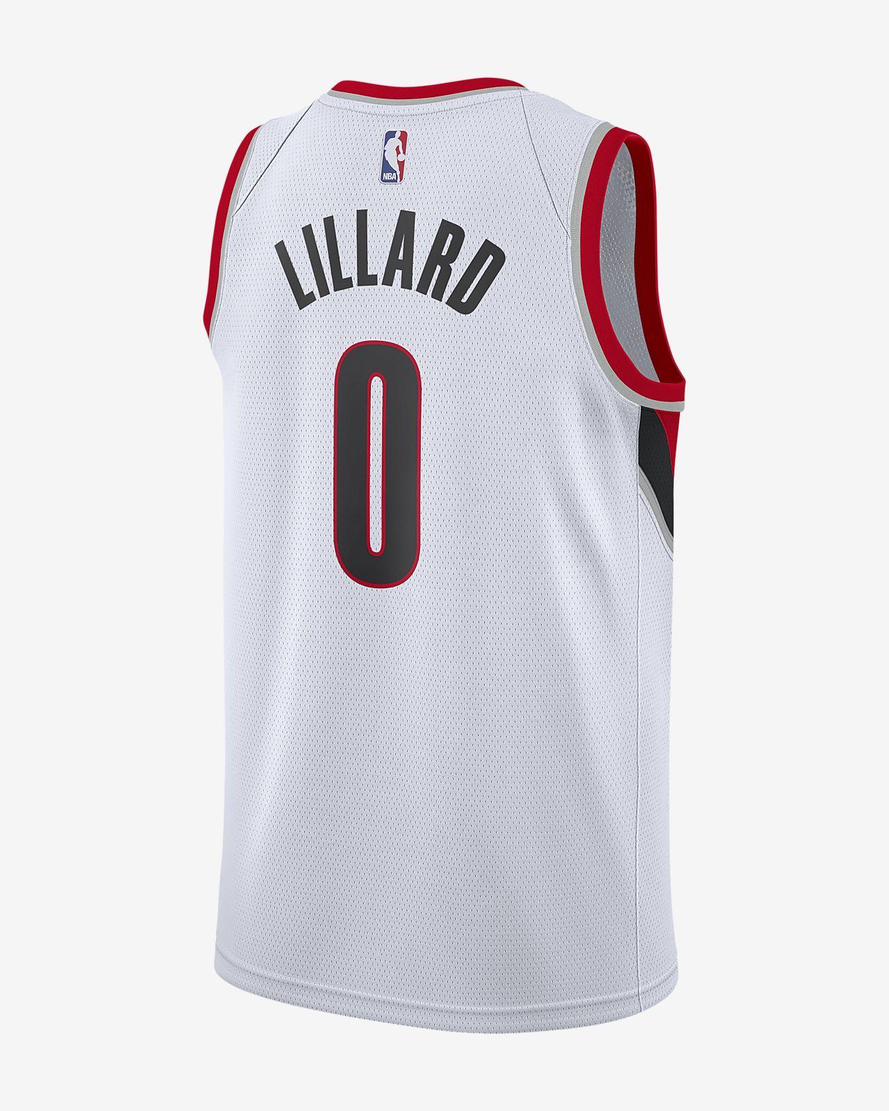 41da85d4226 ... 波特兰开拓者队(Damian Lillard) Association Edition Swingman Jersey Nike NBA