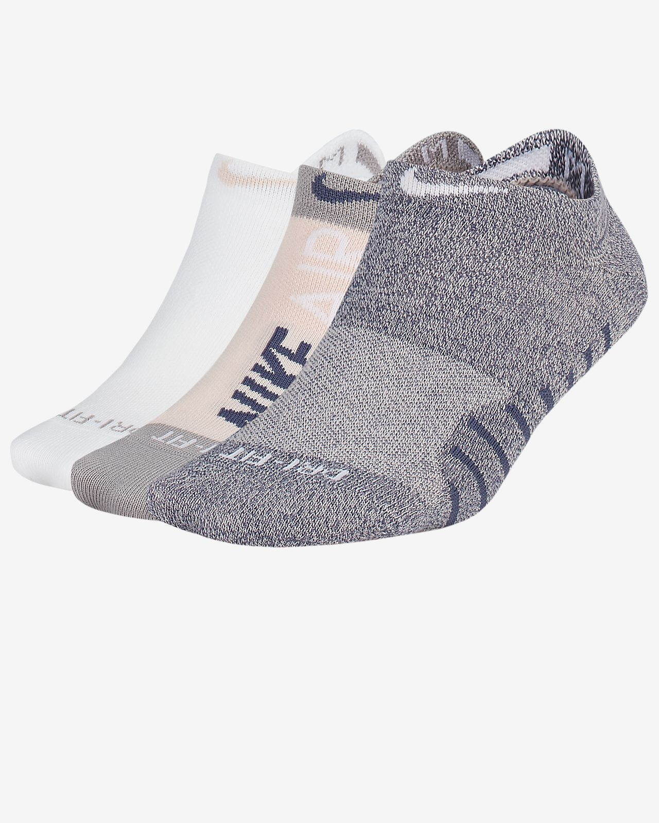 Nike Everyday Max Women's Lightweight No-Show Training Socks (3 Pairs)