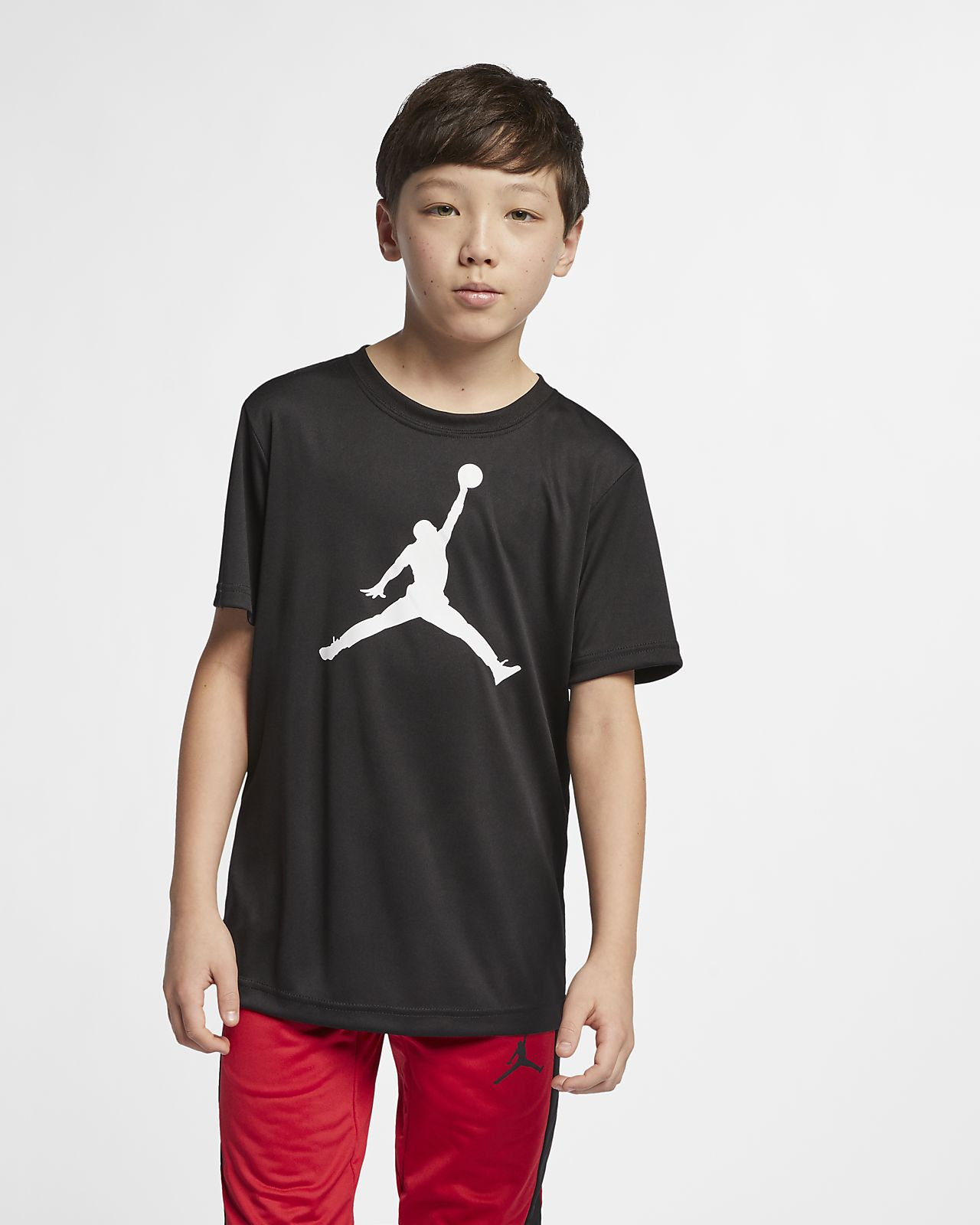 Jordan Jumpman Dri-FIT Big Kids' (Boys') Short-Sleeve T-Shirt