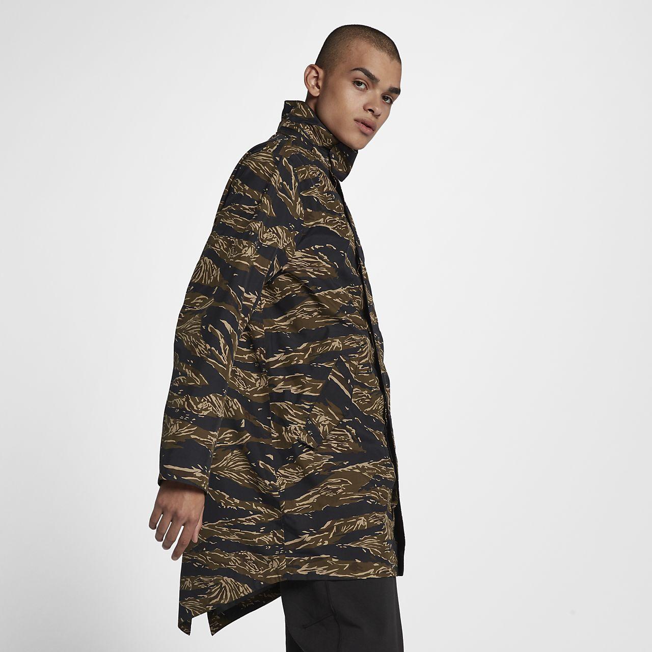 NikeLab Essentials Tiger Camo Parka Men's Jacket. Nike.com