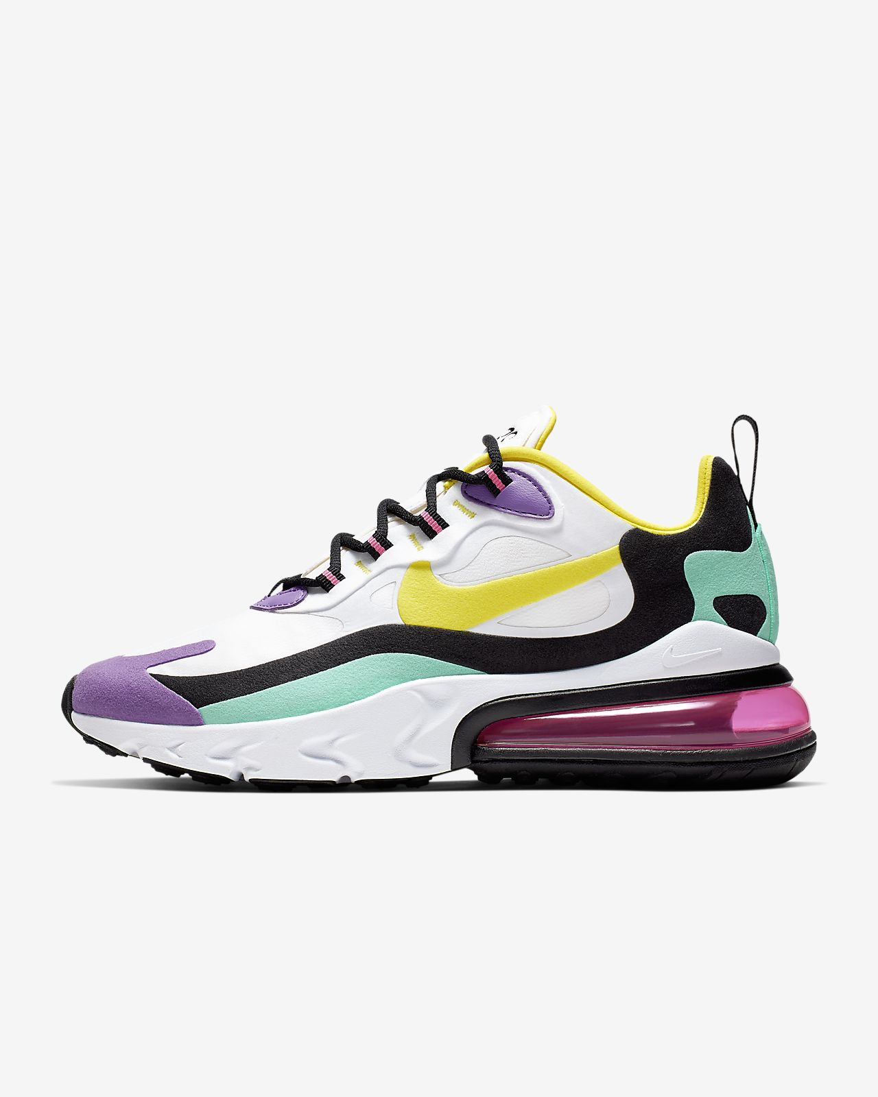 half off 69870 36220 Nike Air Max 270 React (Geometric Abstract) Women's Shoe