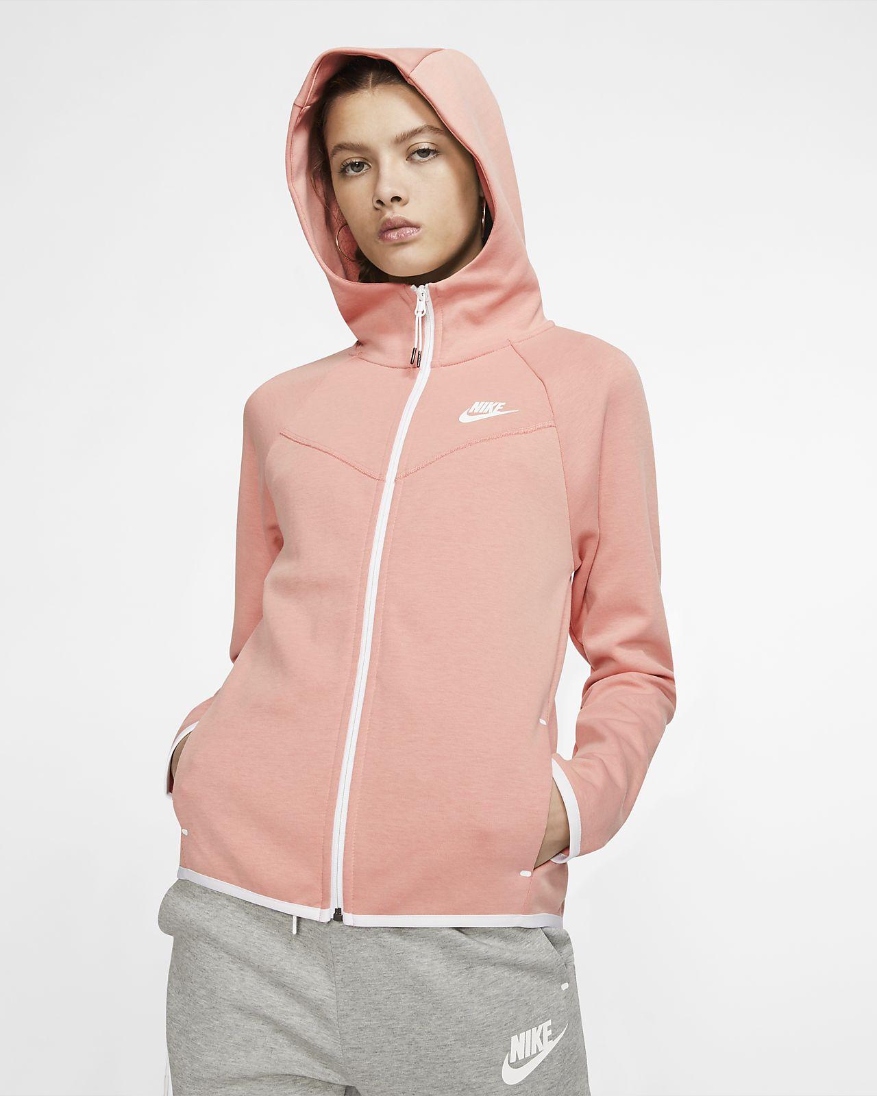 niesamowity wybór wyprzedaż resztek magazynowych dobrze out x Damska rozpinana bluza z kapturem Nike Sportswear Windrunner Tech Fleece