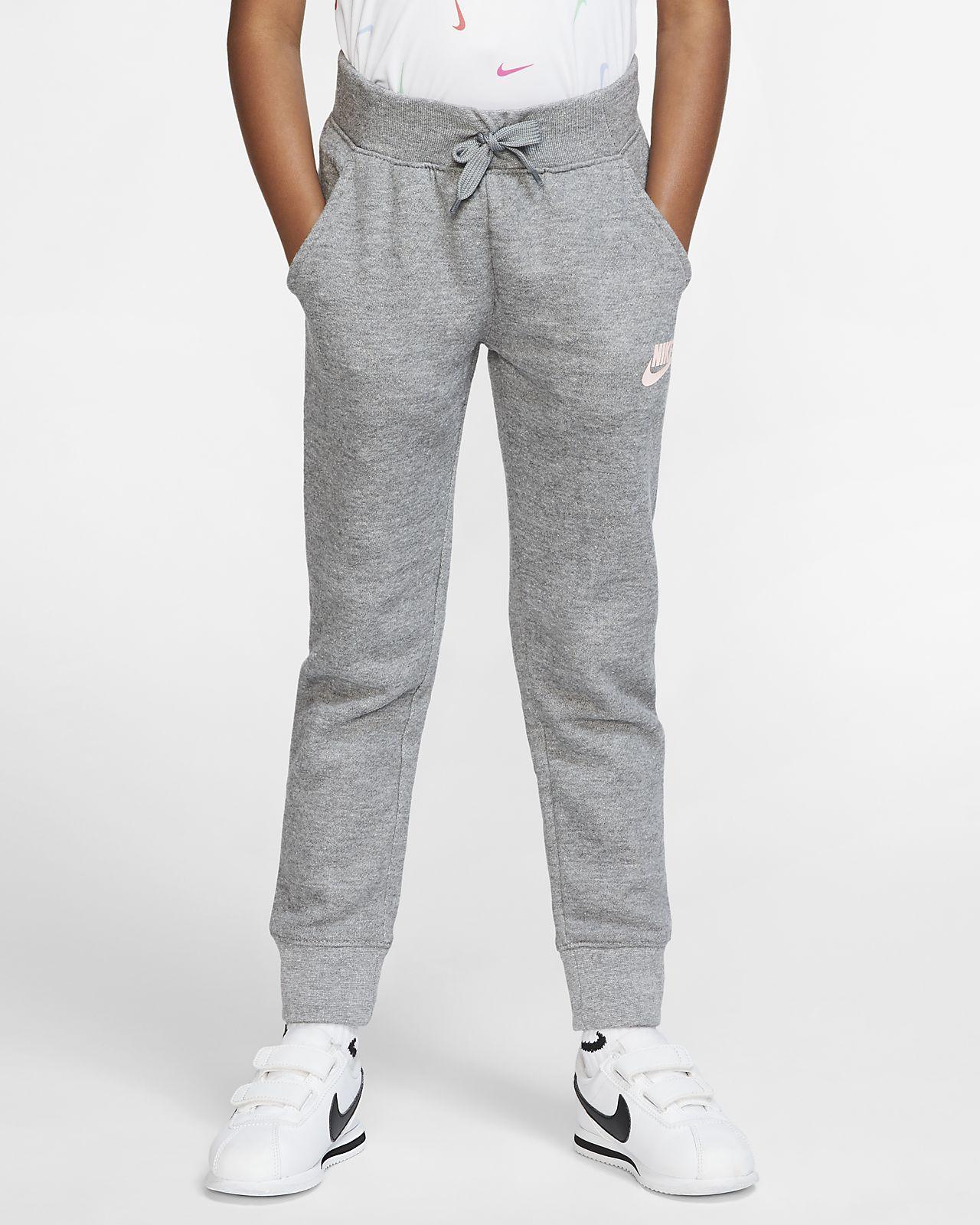 Pantalon de jogging en tissu Fleece Nike Sportswear pour Jeune enfant