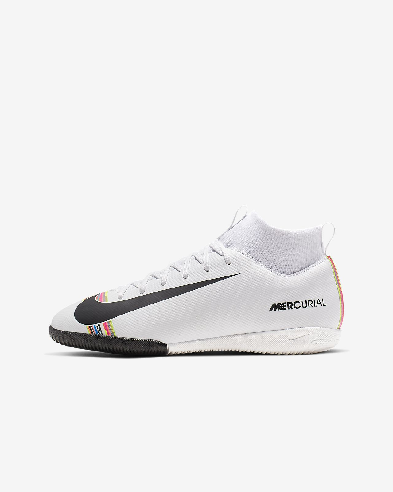 Nike Jr. SuperflyX 6 Academy LVL UP IC Küçük/Genç Çocuk Kapalı Saha/Salon Kramponu